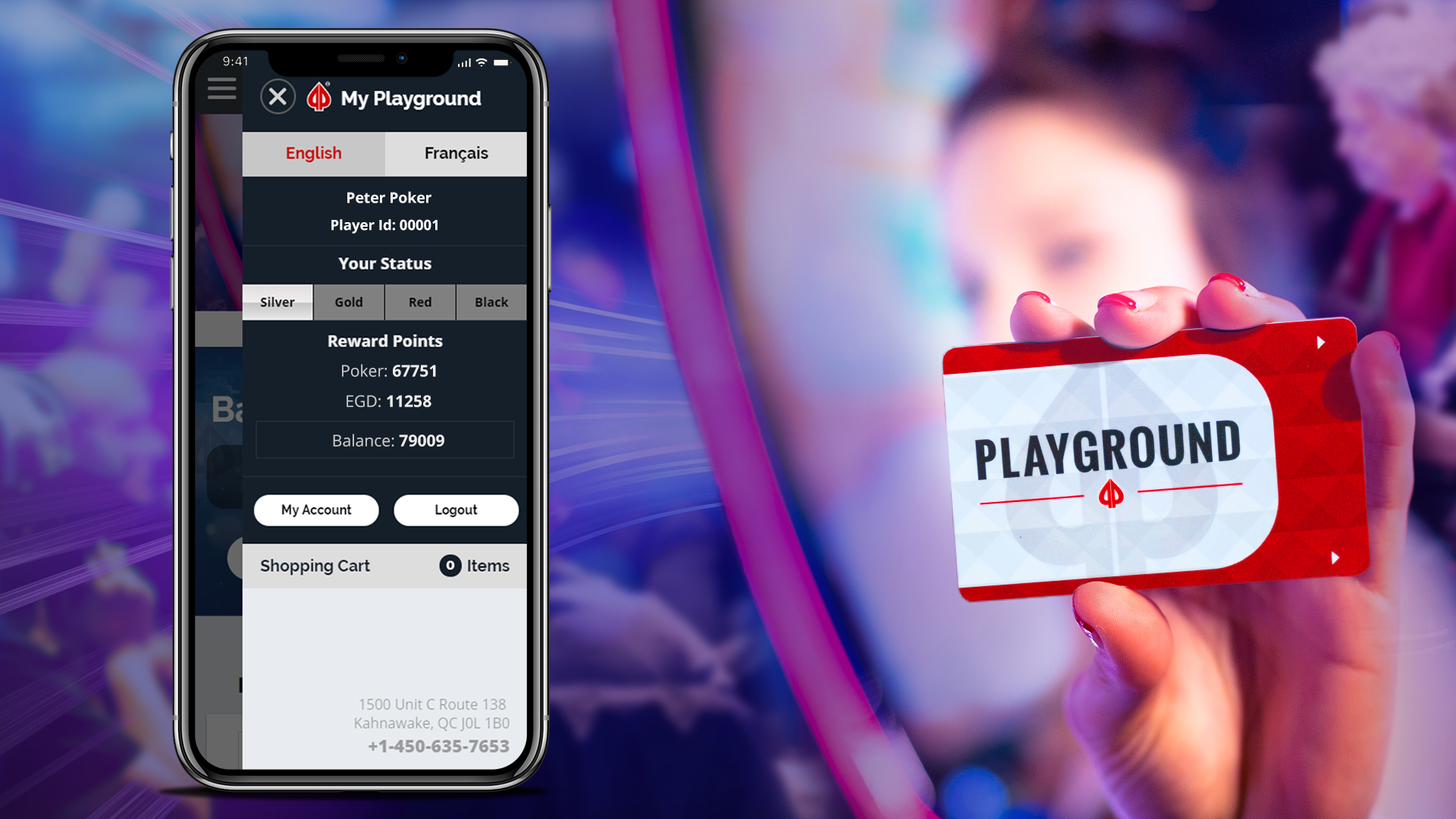 Playground Rewards at Your Fingertips