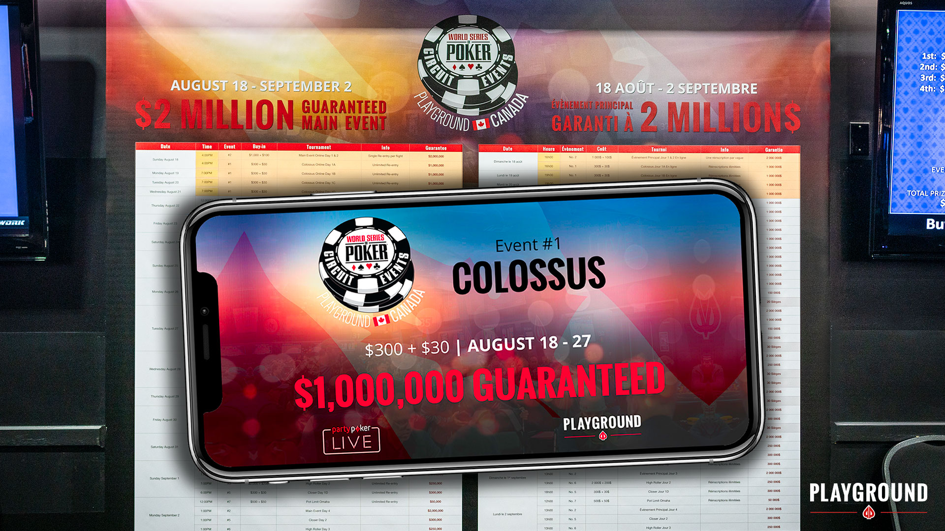 The Colossus starts on partypoker!