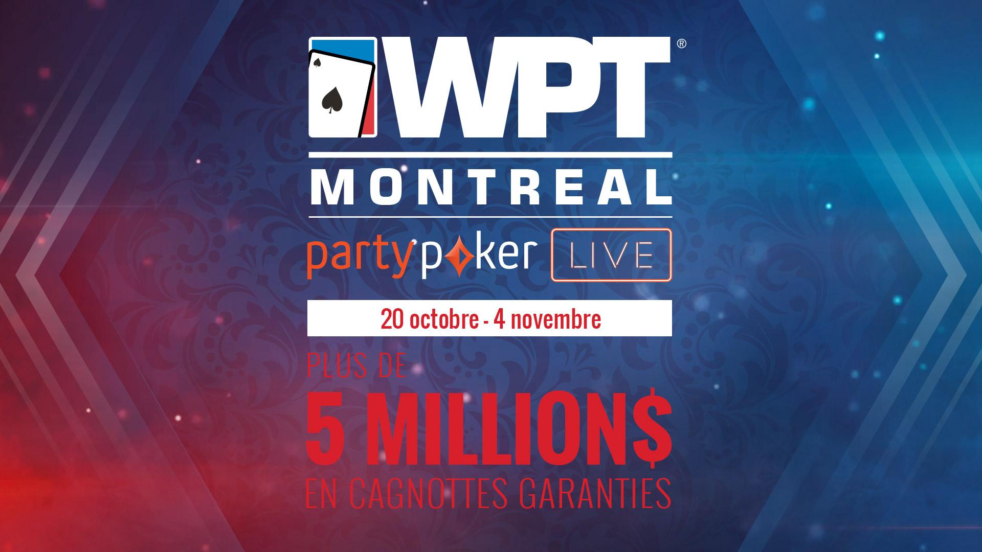 Le WPT Montréal est finalement annoncé