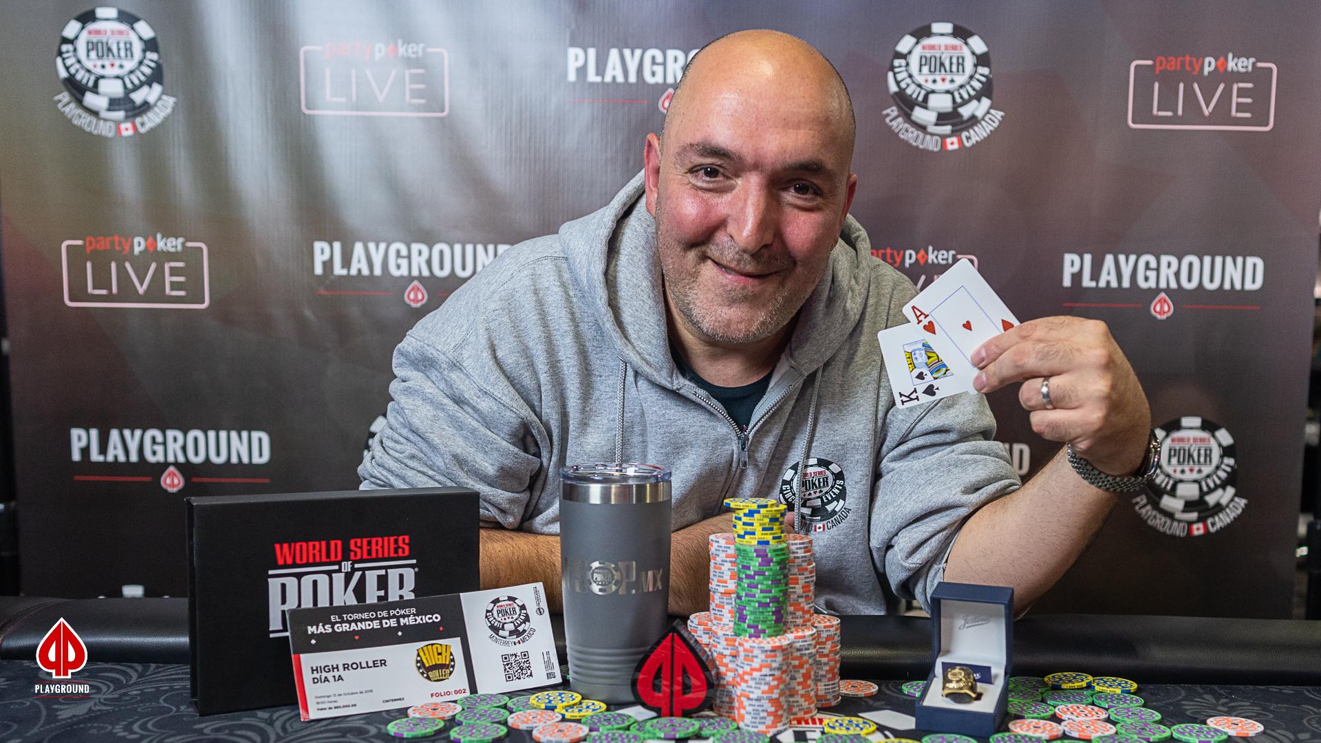 Le Champion de l'Évènement Principal: Joe Pellegrino!