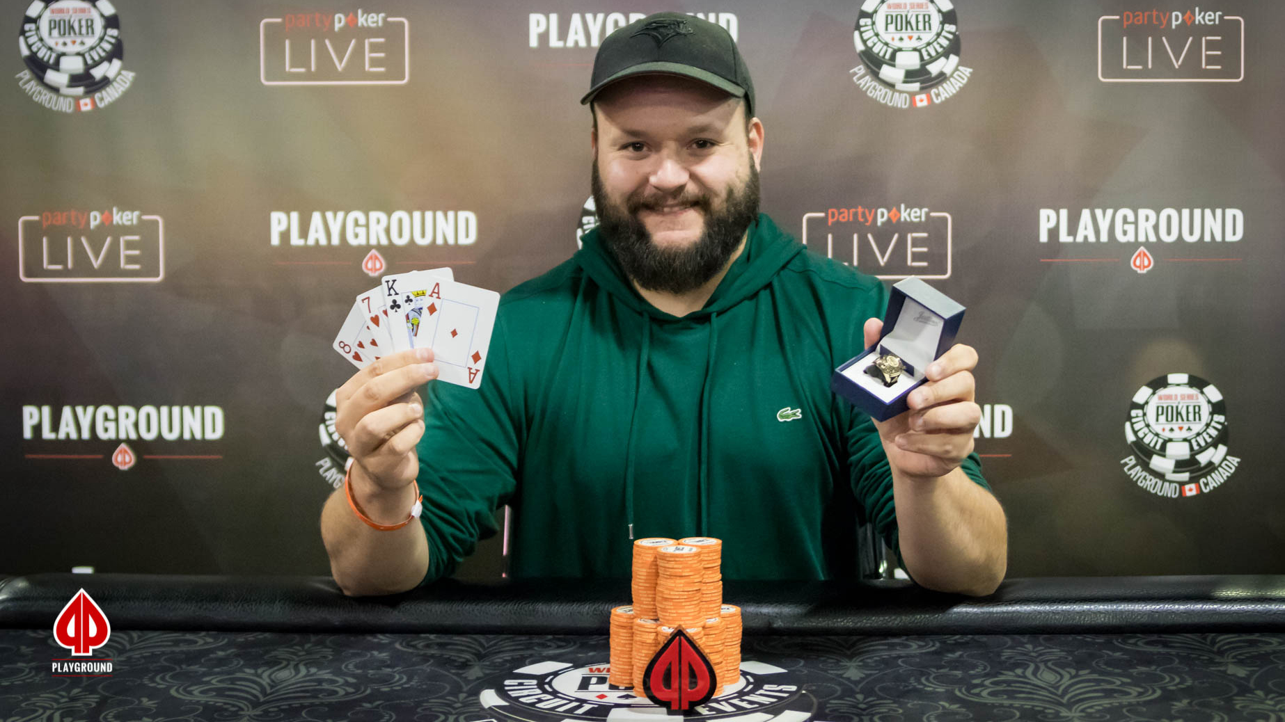 Pot Limit Omaha champion: Jason Hallee