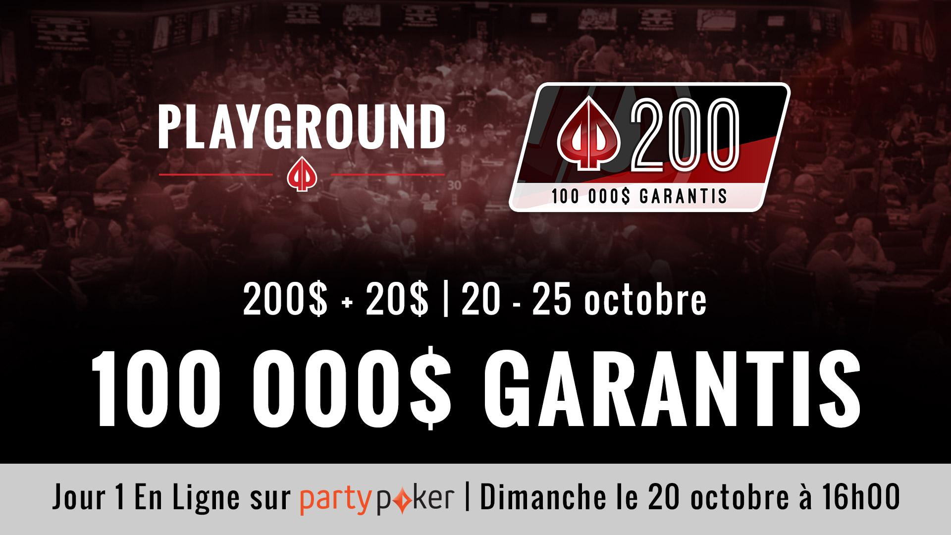 Le Playground 200 et Autres Évènements Parallèles