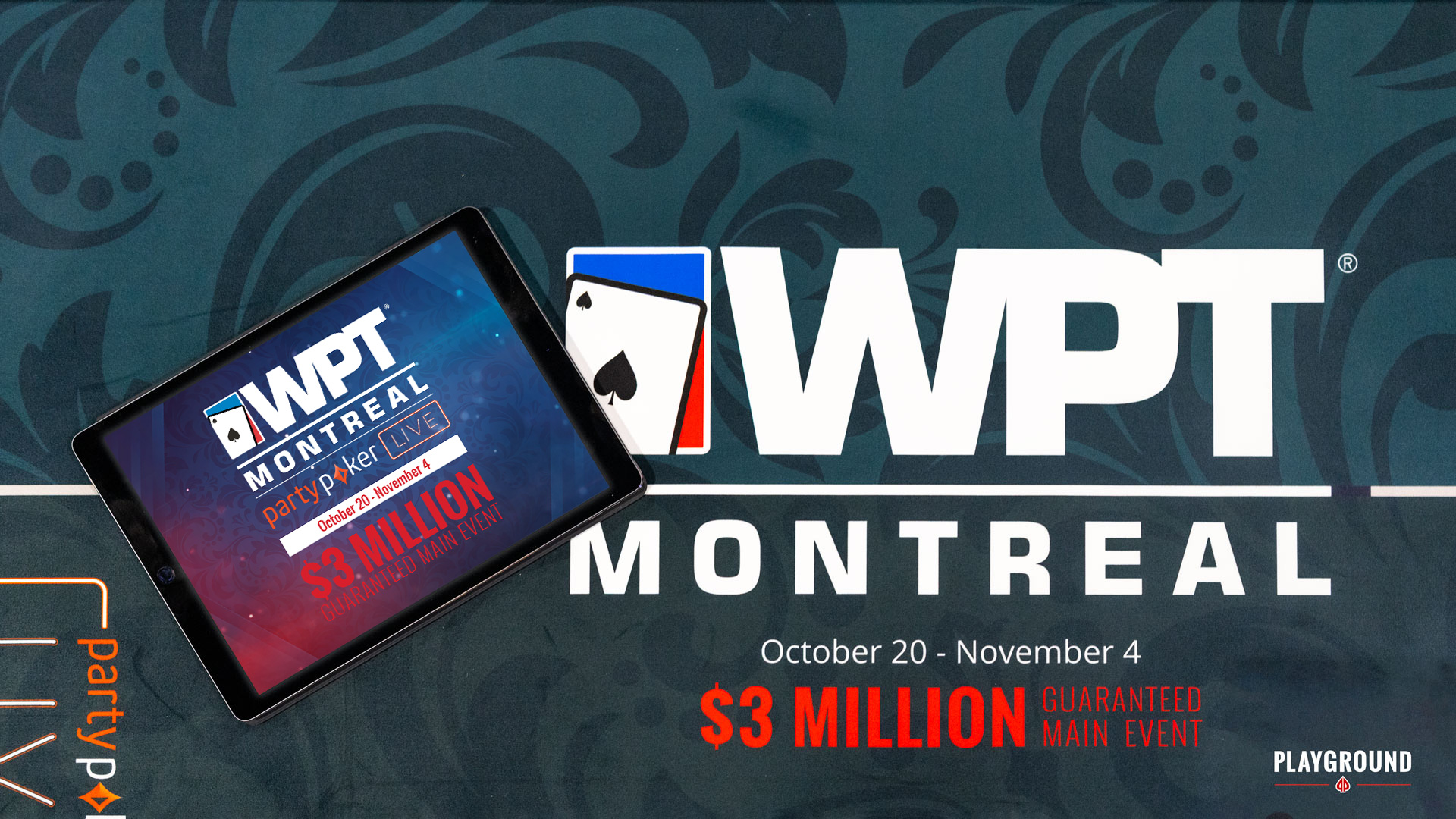 The WPT Montreal Starts This Sunday!