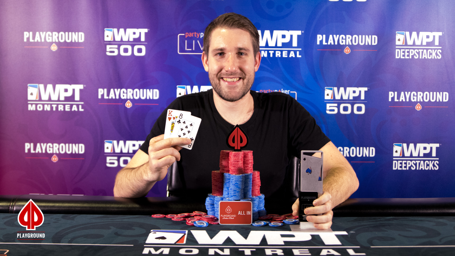 The High Roller Champion: Louis Boutin