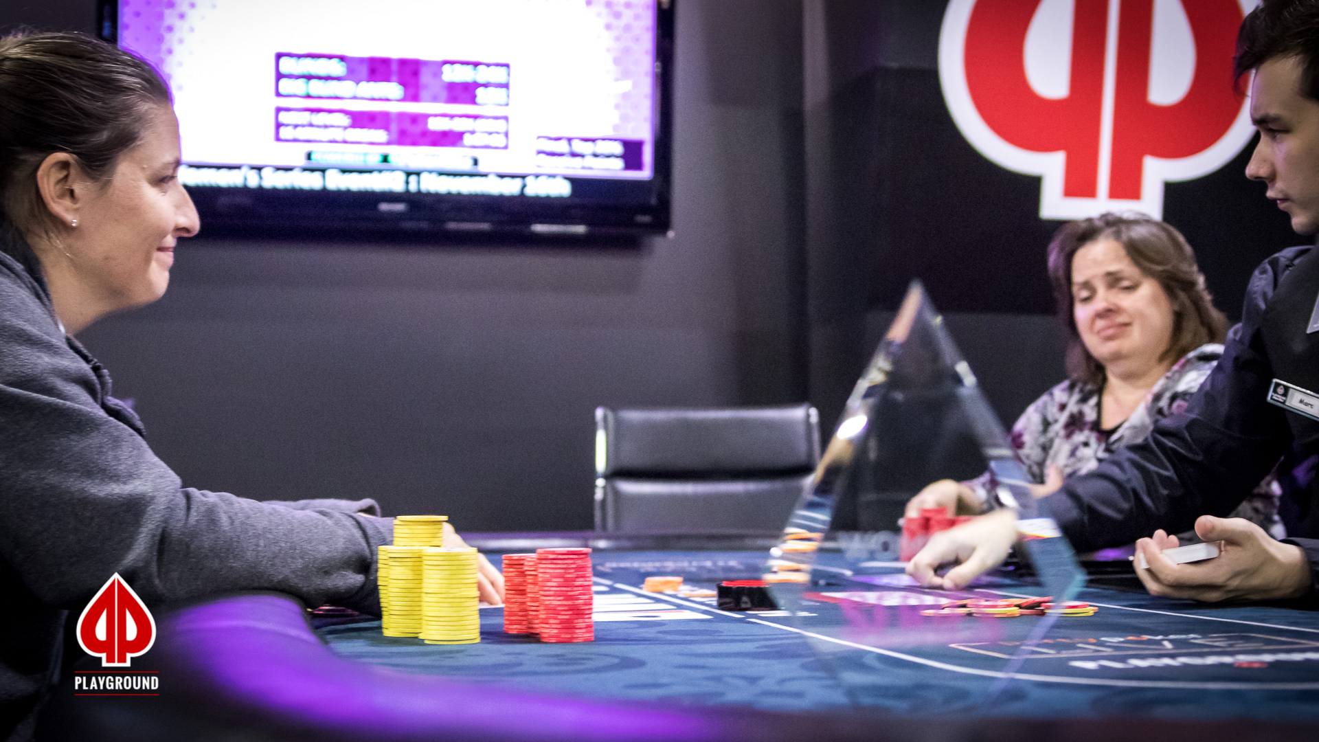 Ruggiero out in third, the tournament is now heads-up