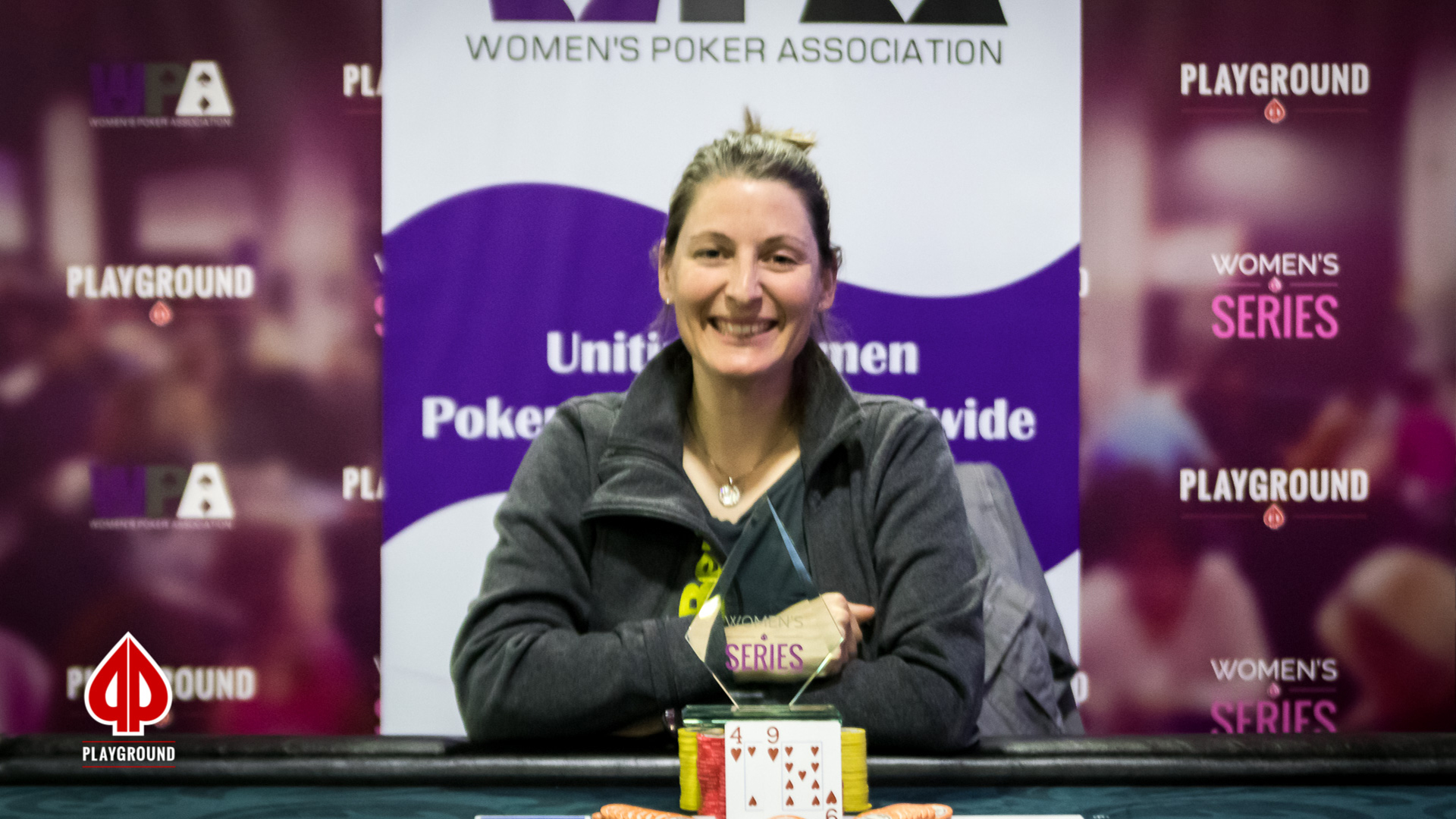 Women's Series Event #1 Champion: Crystal Abouhanna