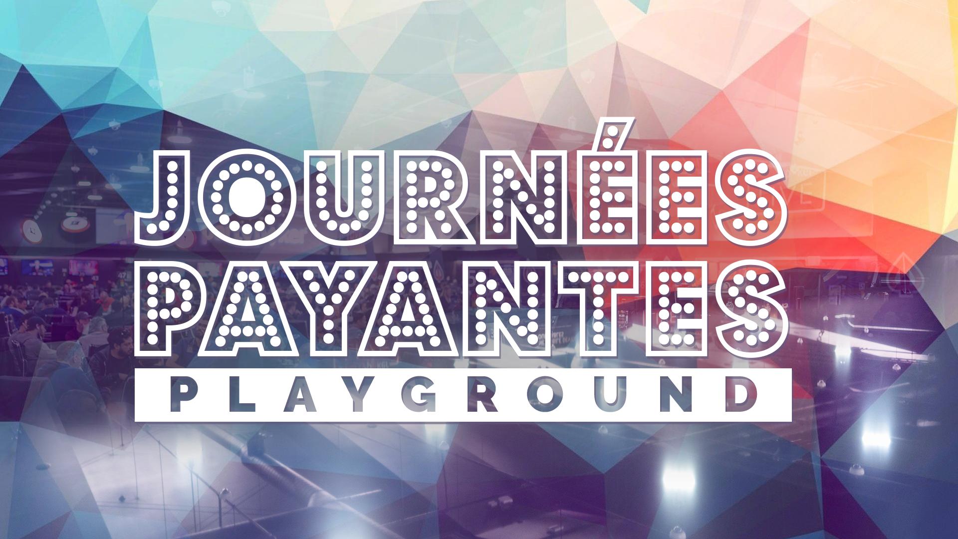 Les Journées Payantes Playground – La Nouvelle Gamme de Promotions