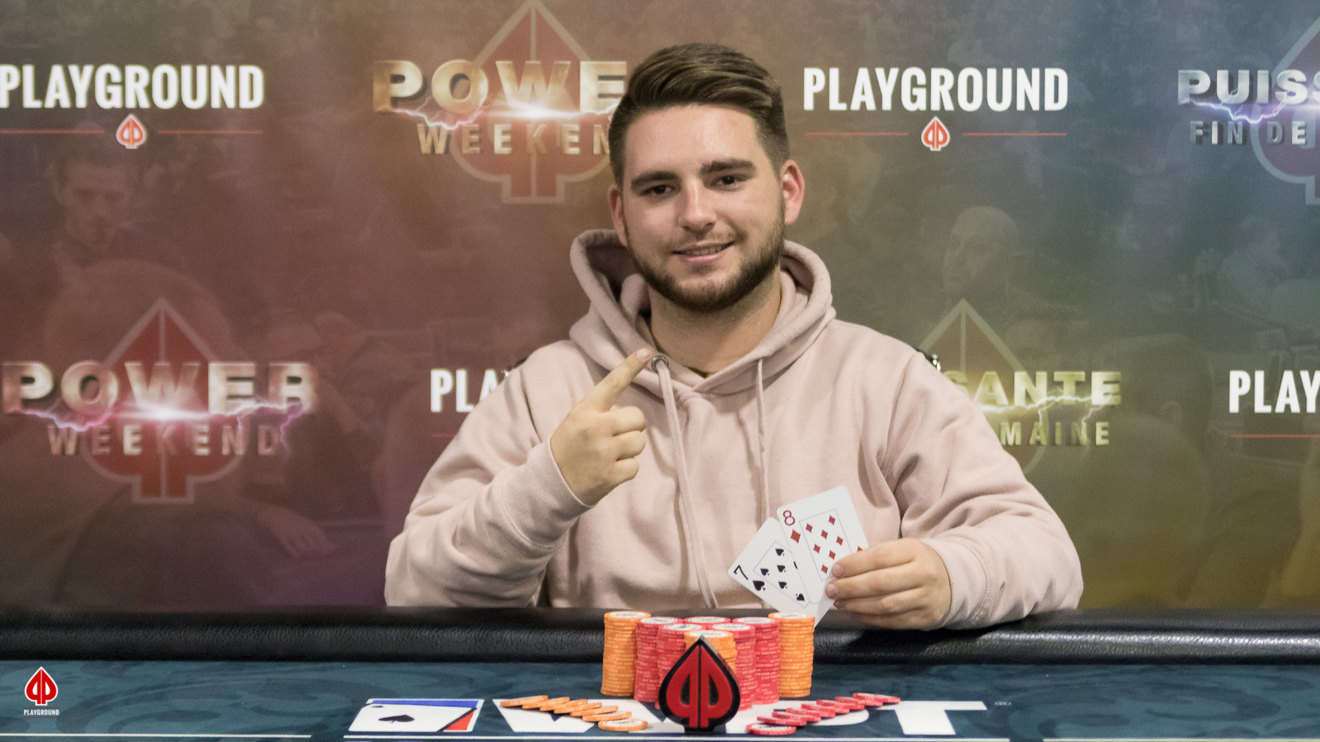 Single Rebuy Champion: Dominic St-Pierre