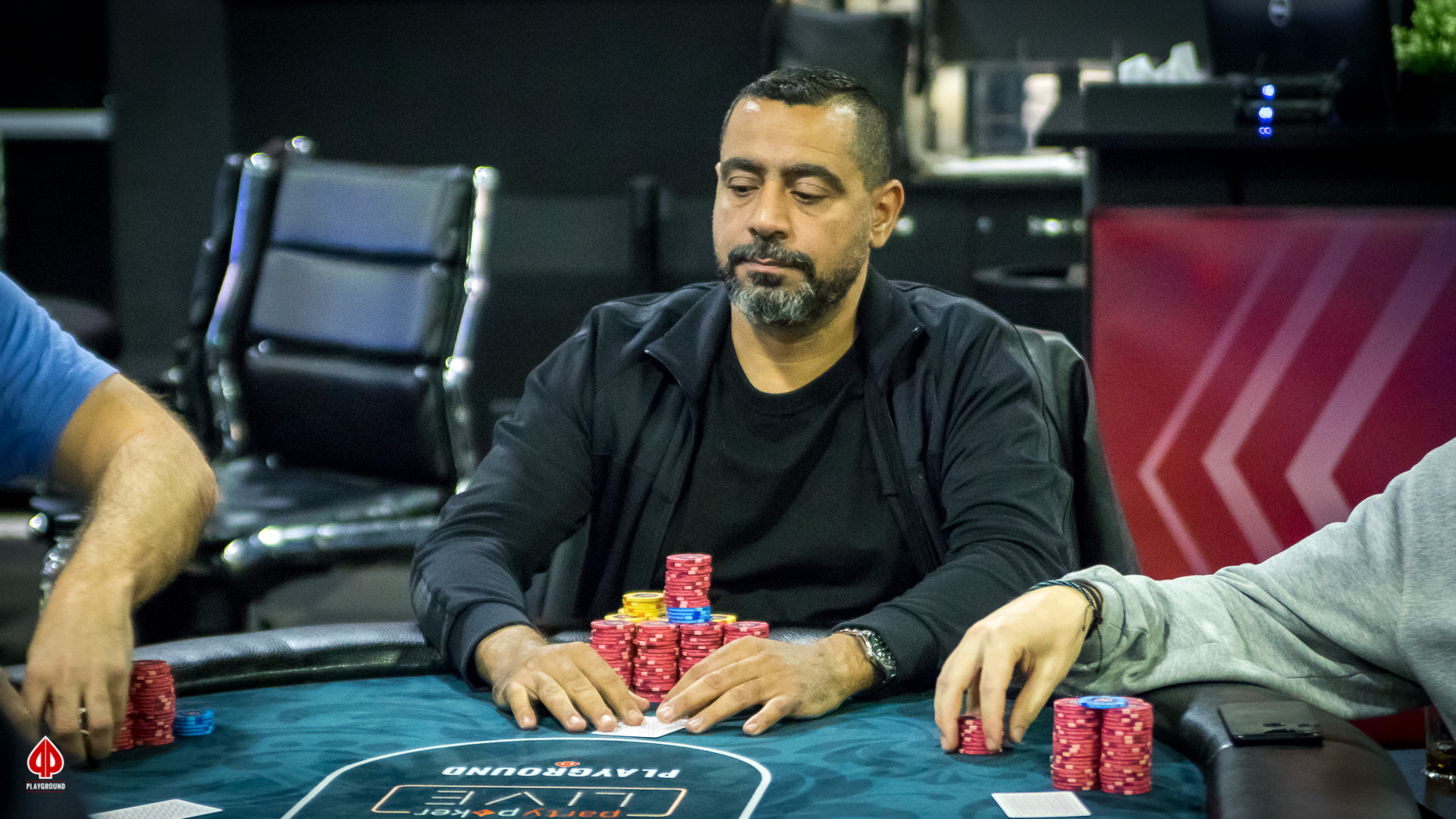 Abdelhamid flops a set in 3-way all in