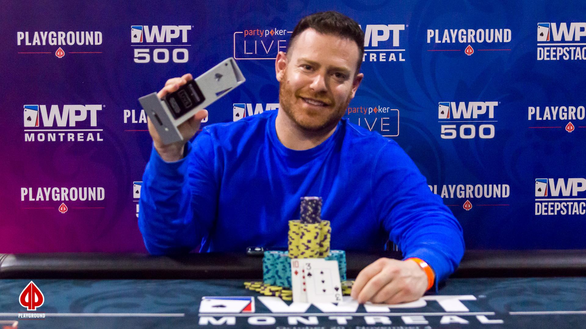 Eric Nomberg est le champion du $250 + $50 + $250 Bounty