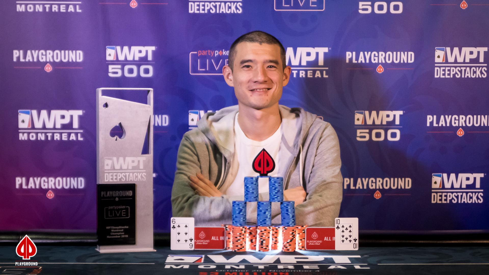 WPTDeepstacks Champion: Jack Salter, $151,220