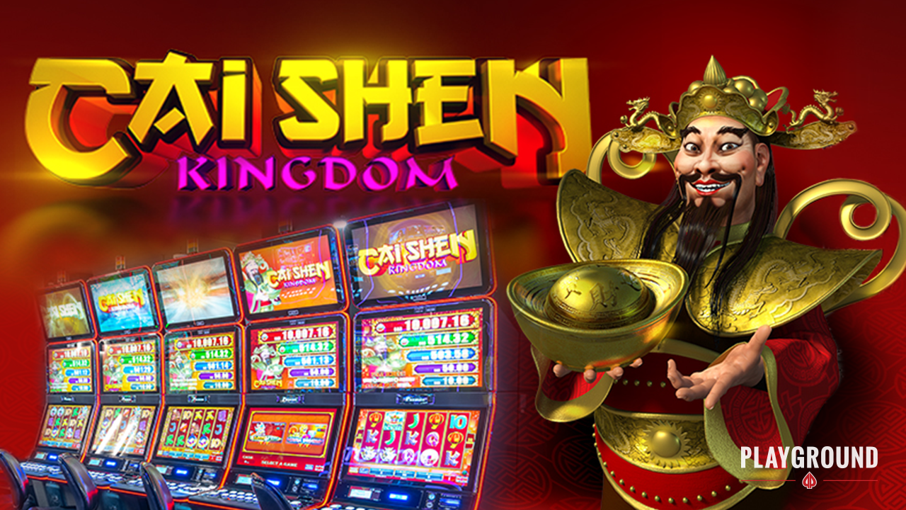 Cai Shen Kingdom arrives at Playground!