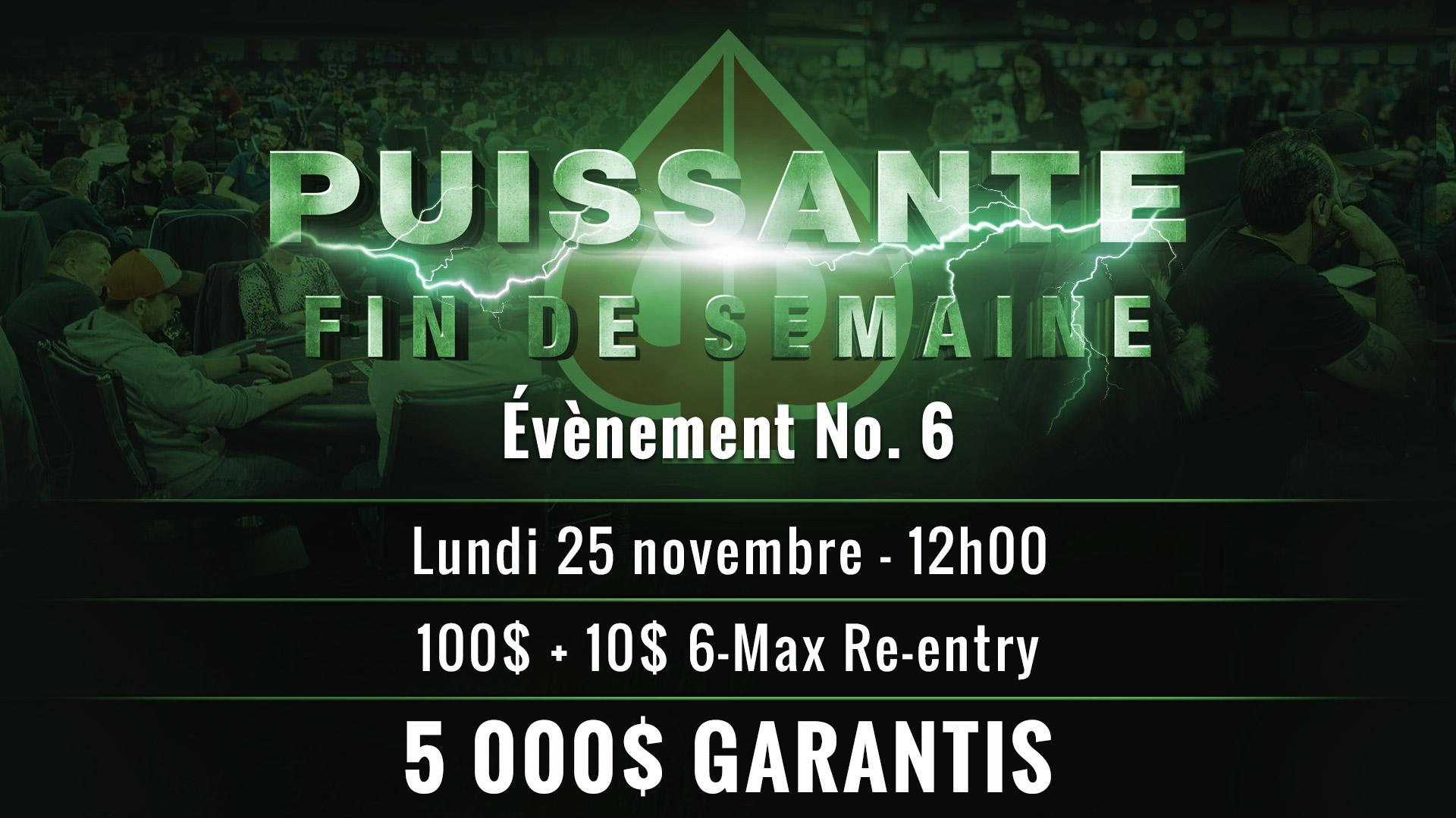 Info – Évènement No. 6