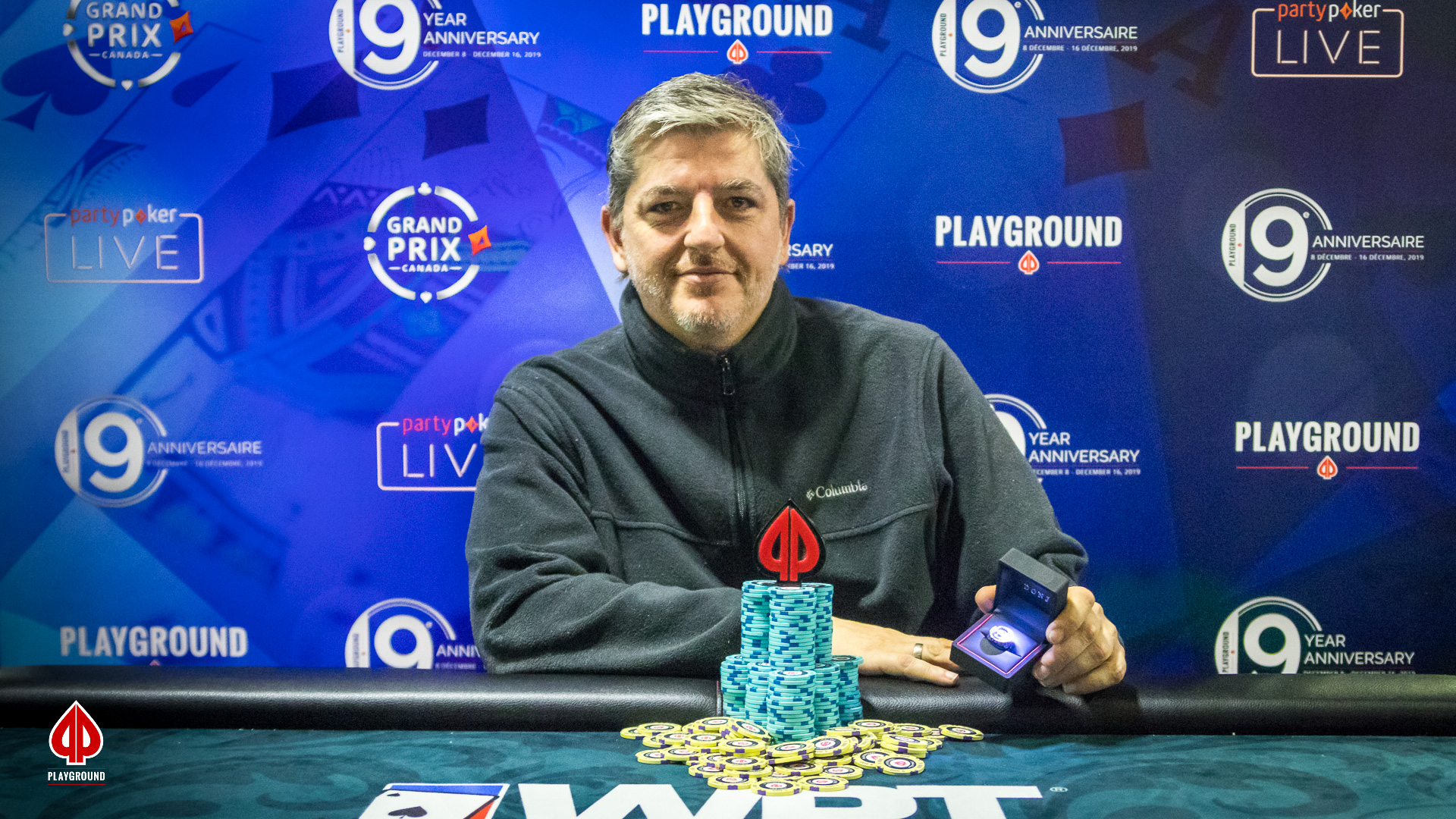 Megastack Turbo Re-entry Champion: Silvio La Palerma