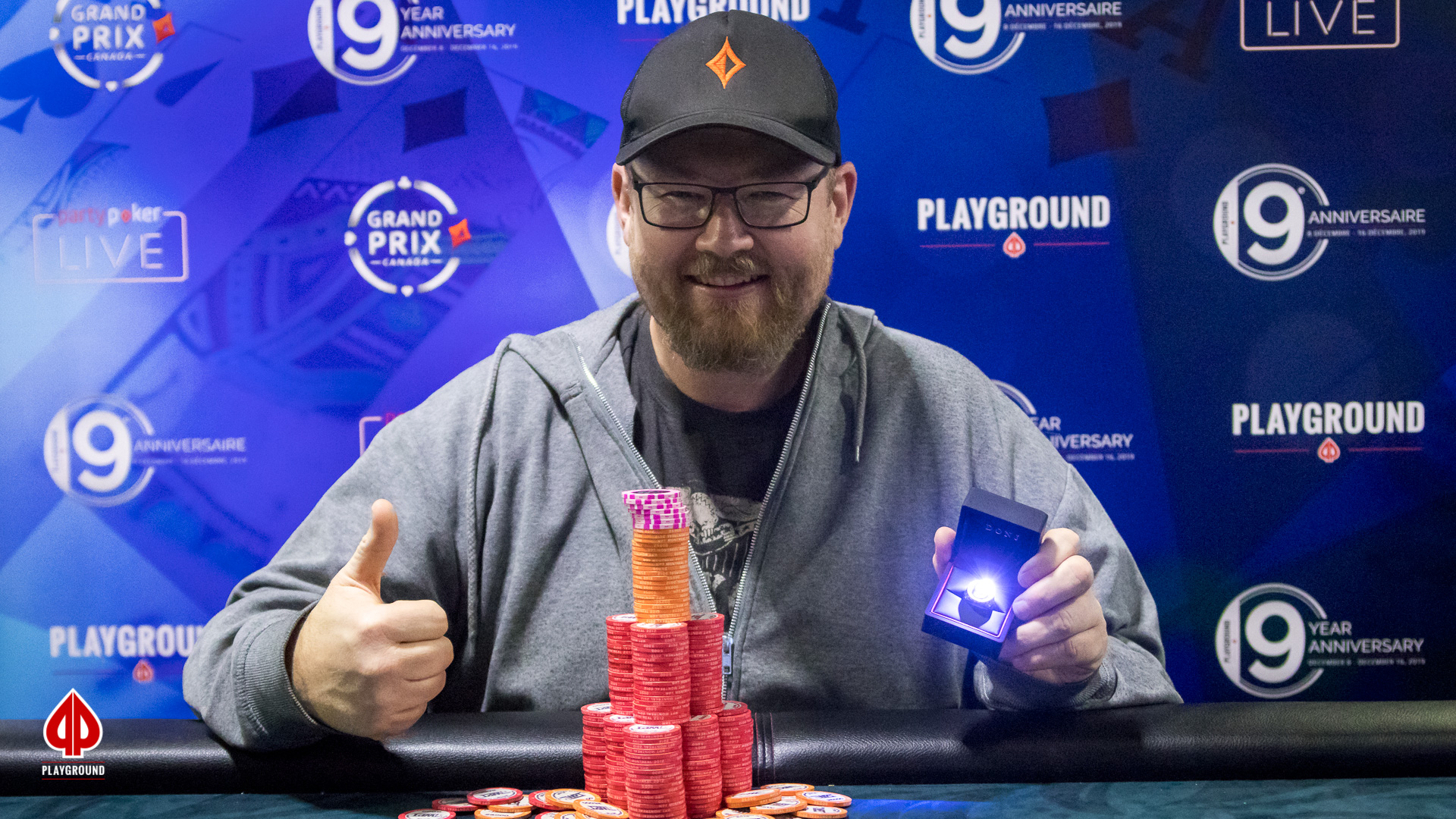 Le Champion du Bounty 50/50: Stephen Langlois