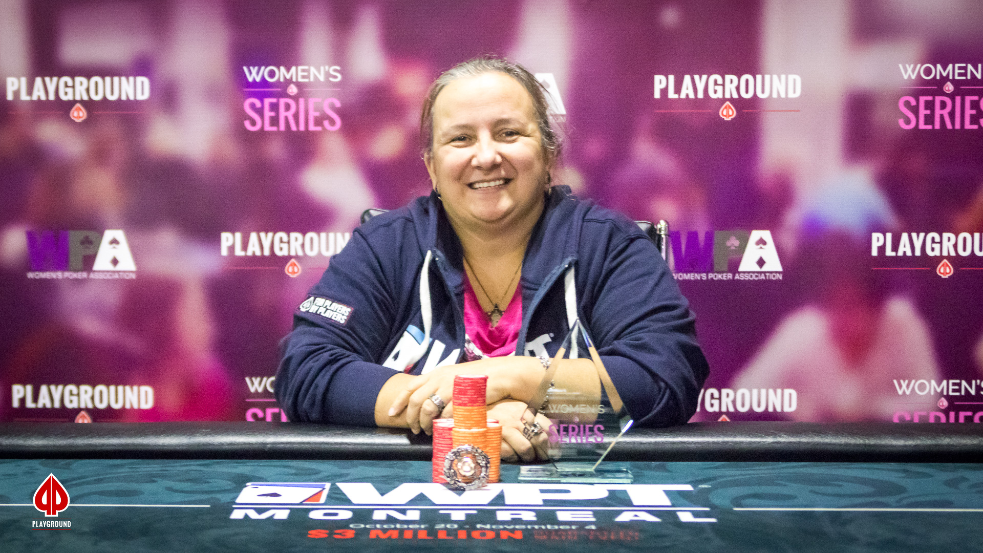 Women's Series Event #3 Champion: Cynthia Paquette