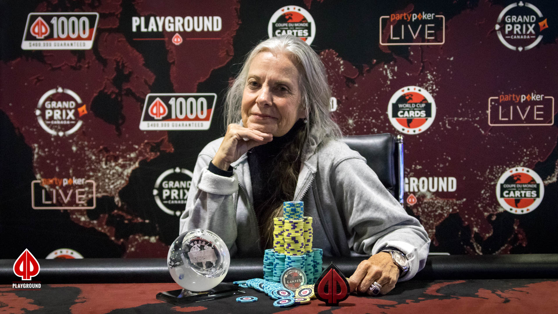 8-Max Bounty Re-entry Champion: Janet Slaughter
