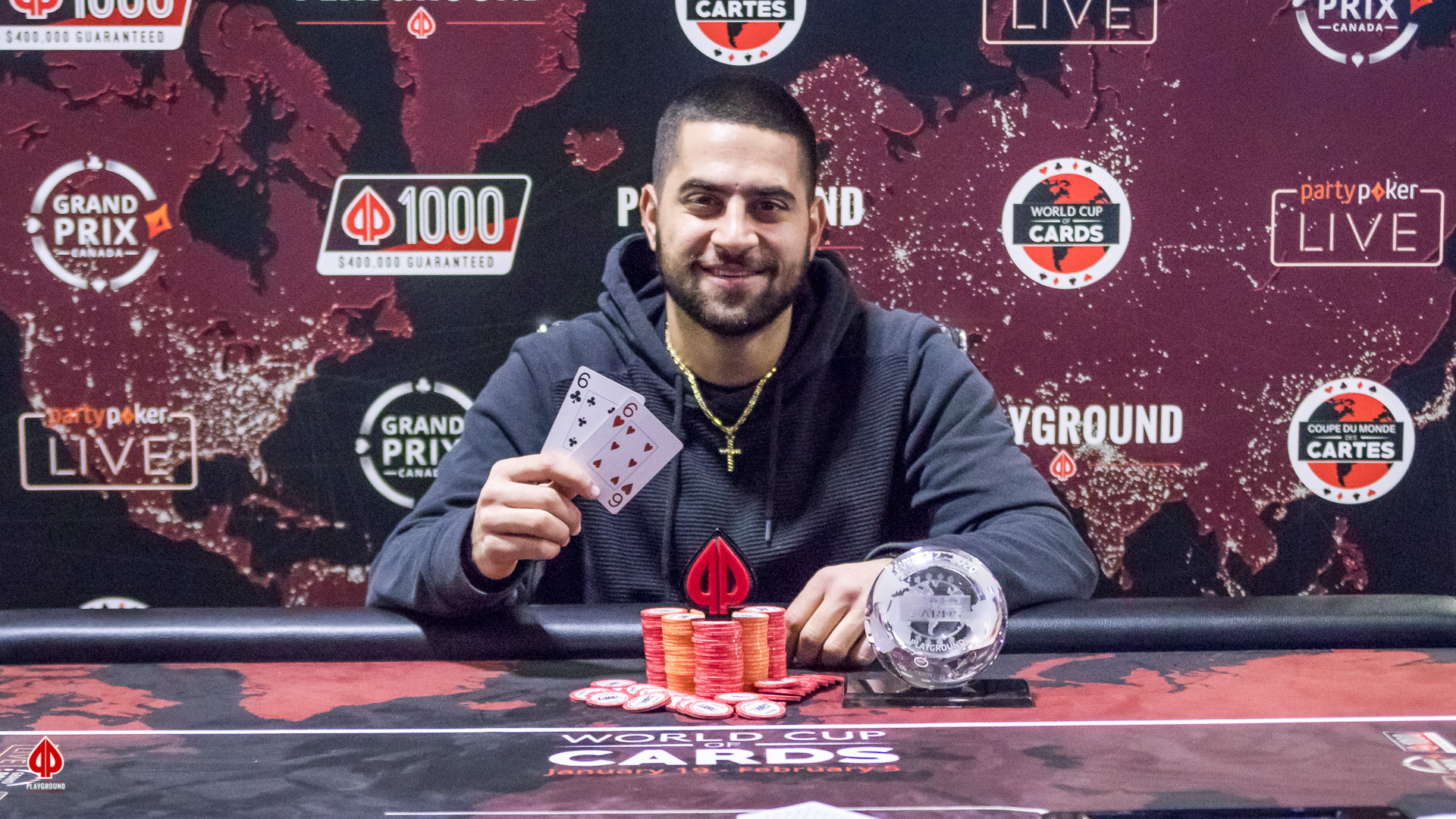 Our $135 + $15 8-Max Shootout Turbo Champion: Nicolas Majdalani
