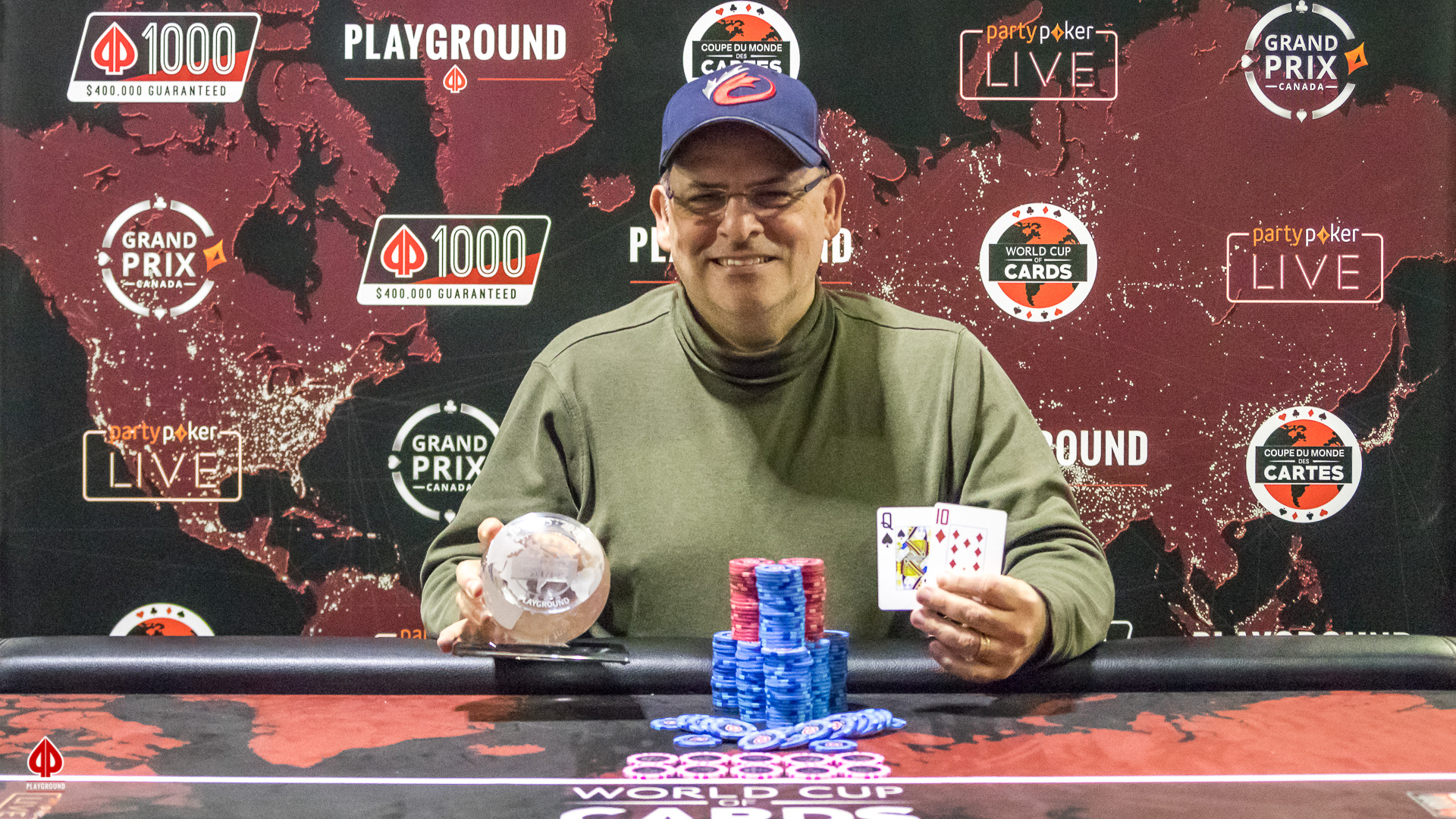 Le Champion du 6-Max Bounty 50/50 Re-entry: Martin Millette