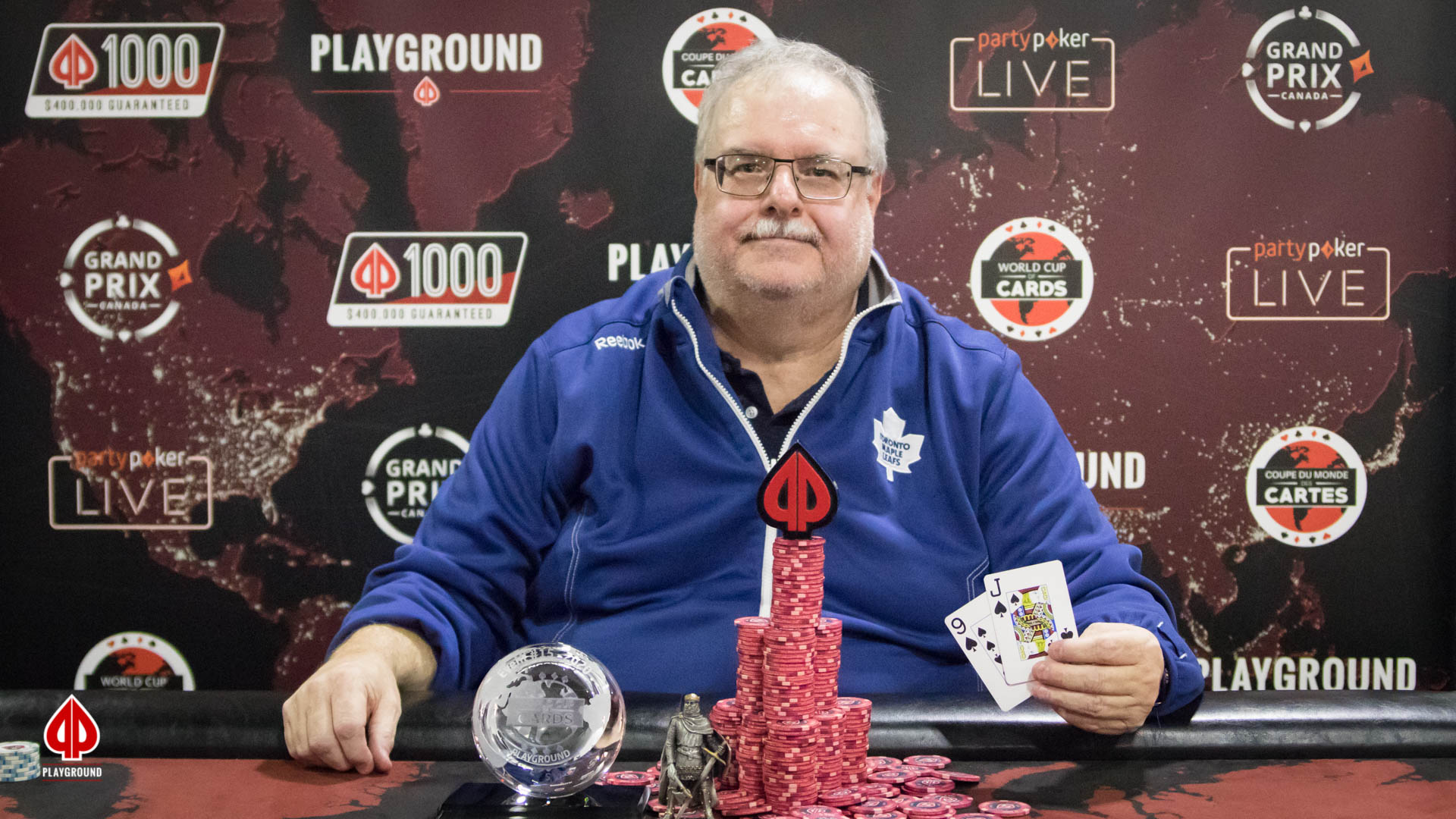 NL Short Deck Hold'em Bounty Re-entry Champion: Robert Mitchell
