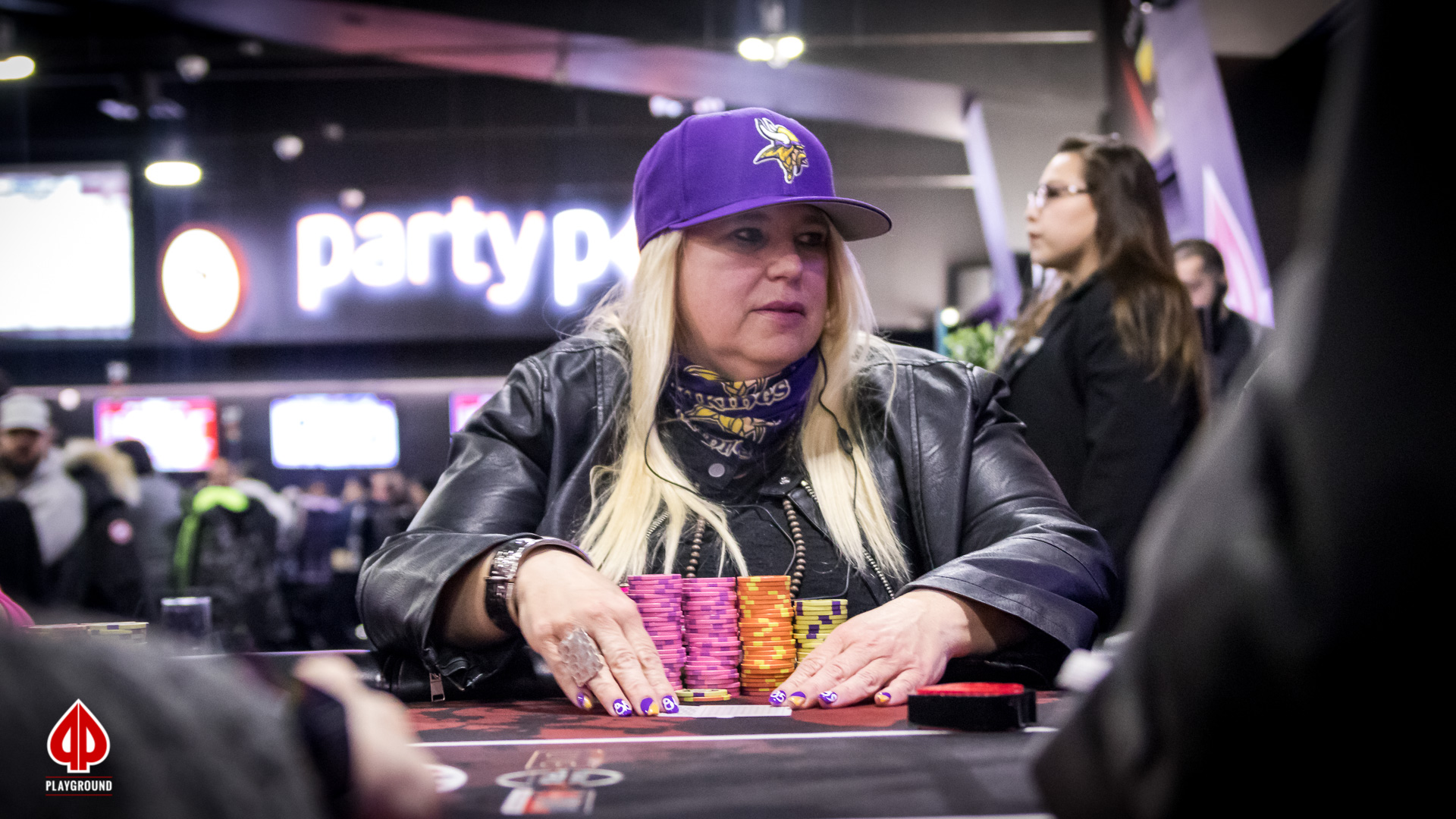 Powell exits in third place ($1,146)
