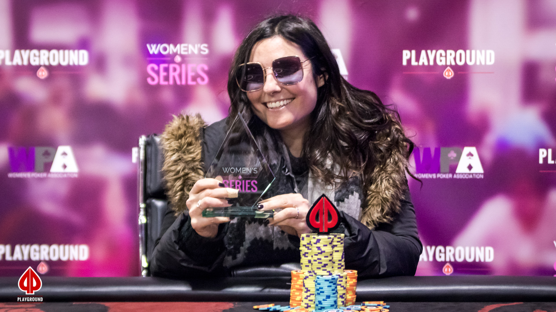 Playground Women's Series Event #4 Champion: Erica F. ($2,280)