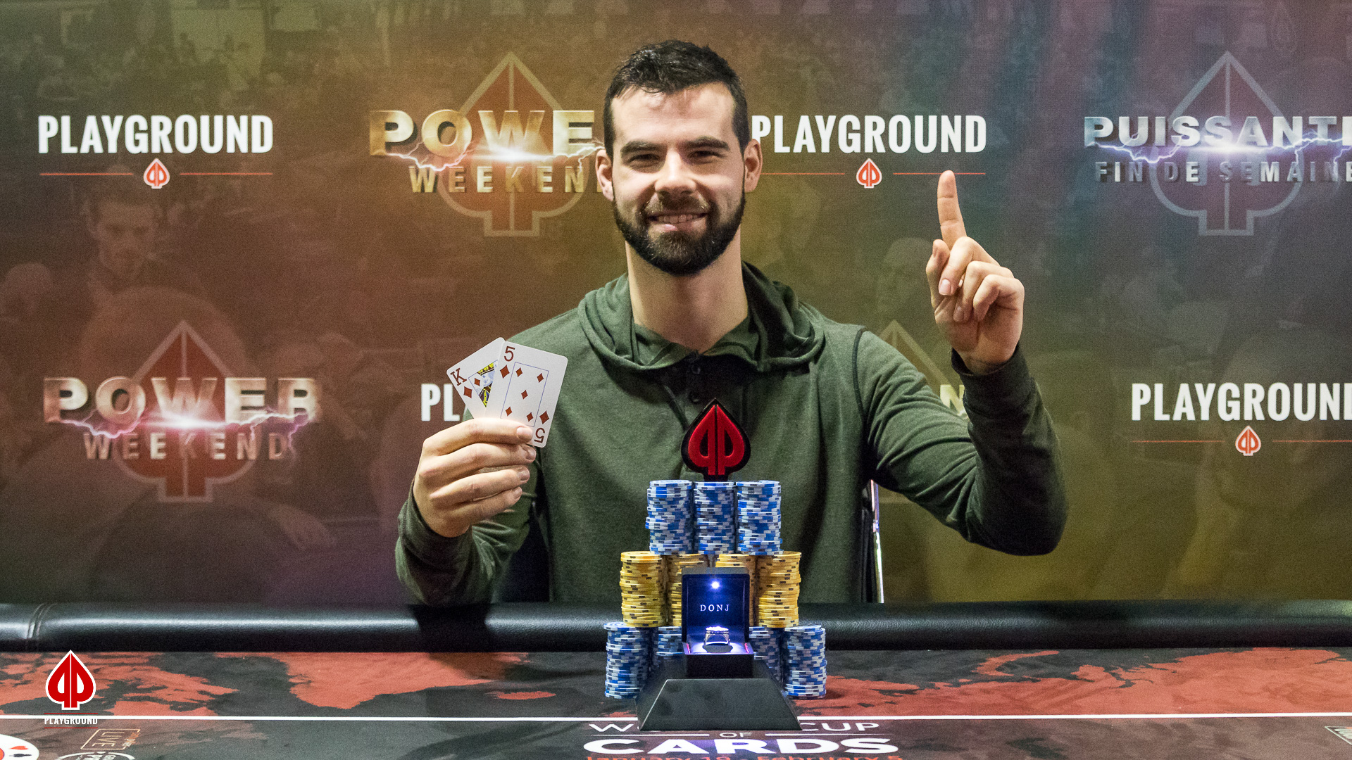 Le Champion du Re-entry: Christopher Goudreault
