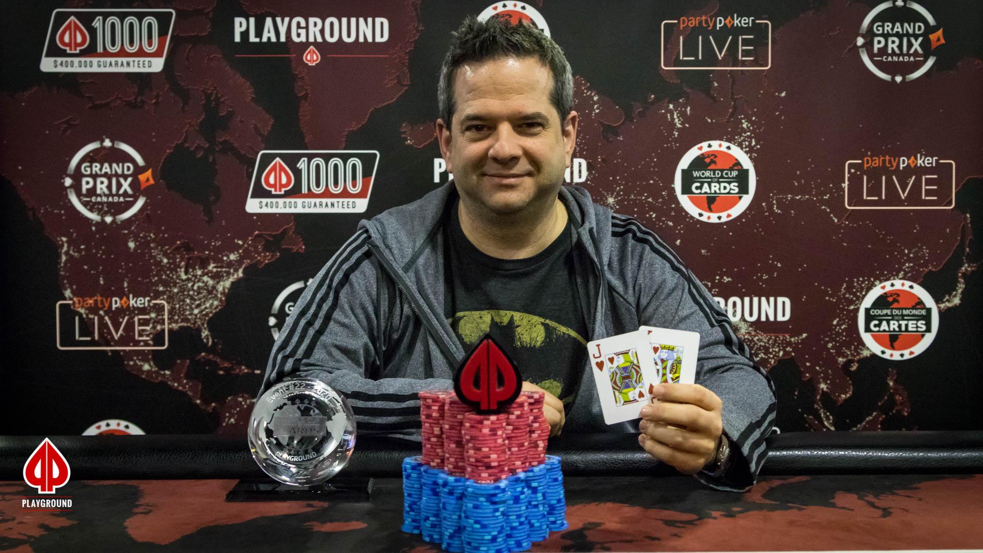 8-Max 50/50 Bounty Champion: Philippe Belley