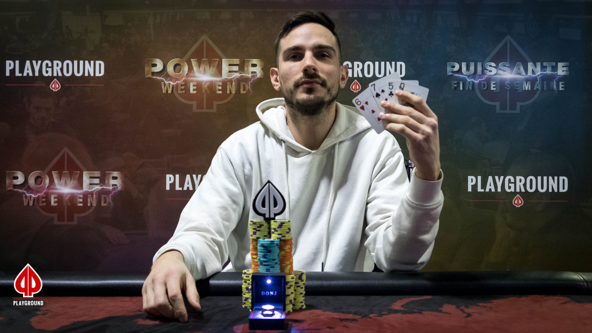 Le Champion du 150$ + 20$ + 50$ PL Omaha Bounty Re-entry: Stefan Siveski