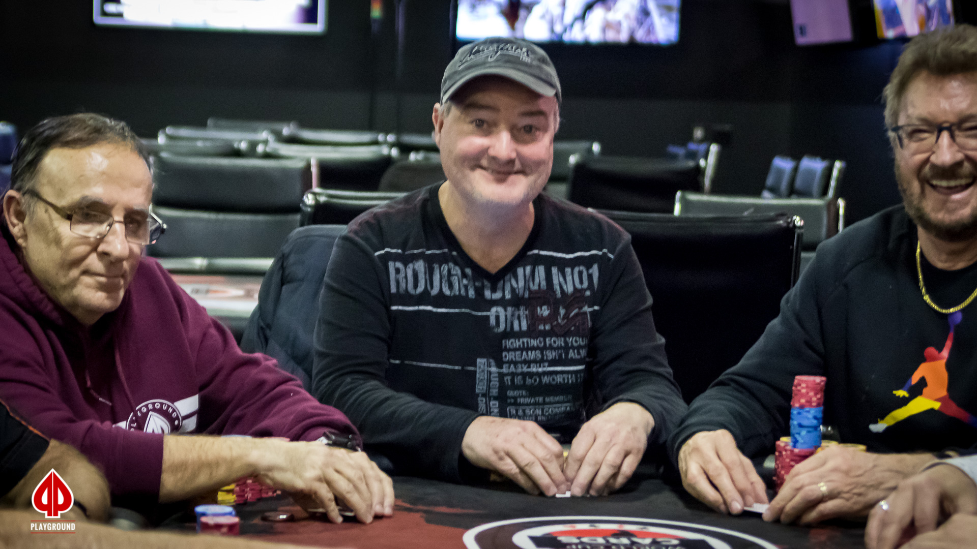 Amirault out in 3rd place ($5,195)