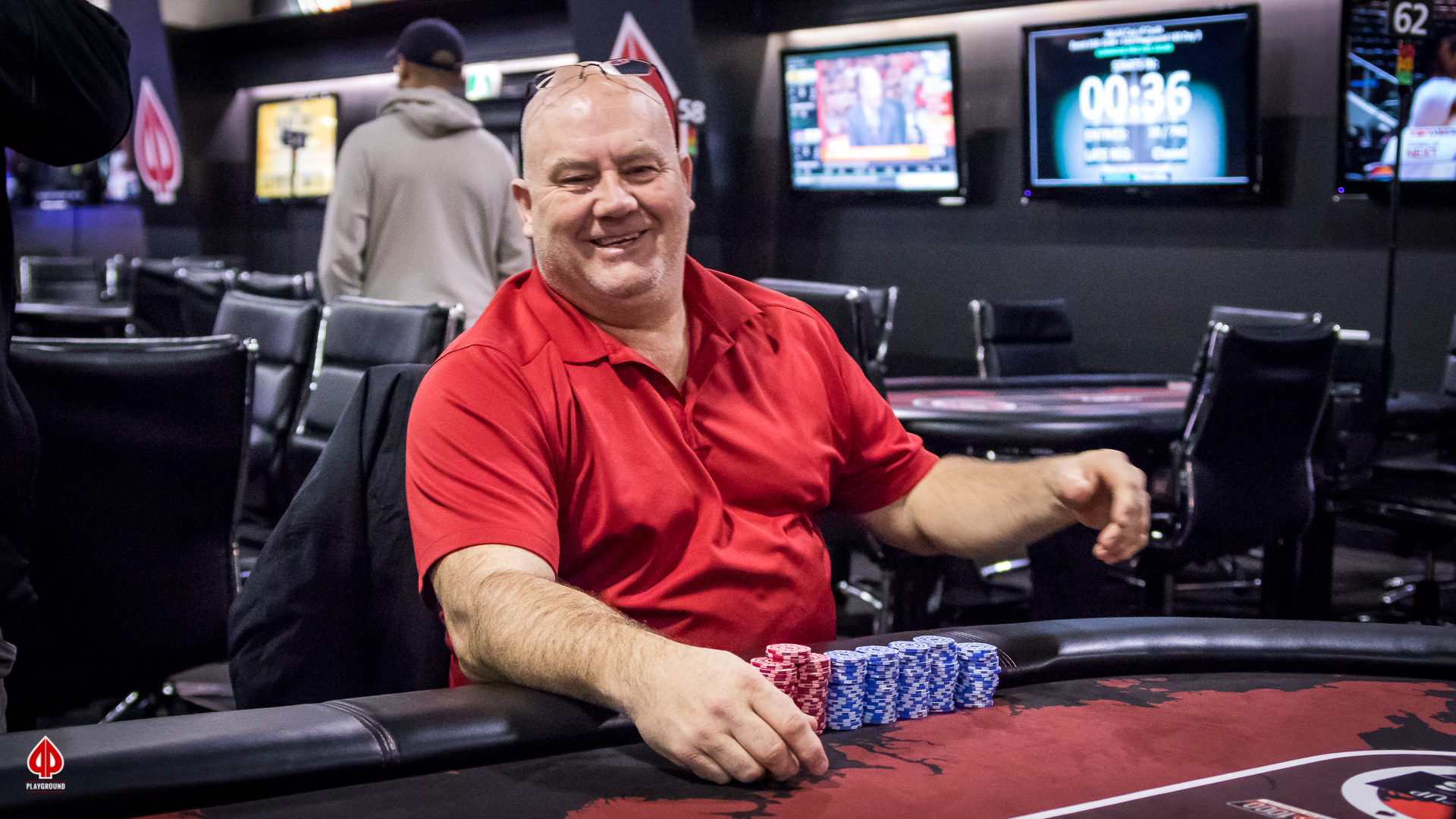 Miller goes to the rail in 4th place ($4,370)