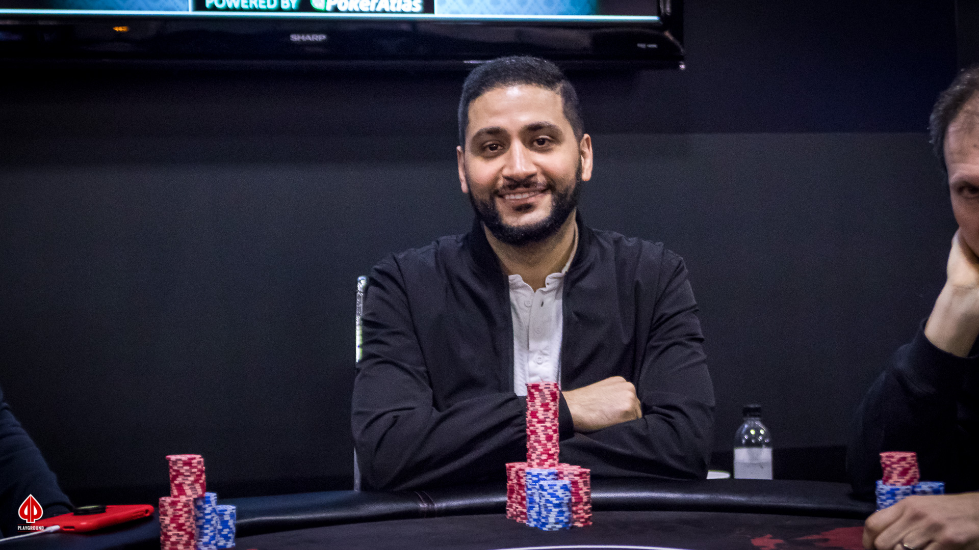 El Ayday exits in 3rd place ($6,010)
