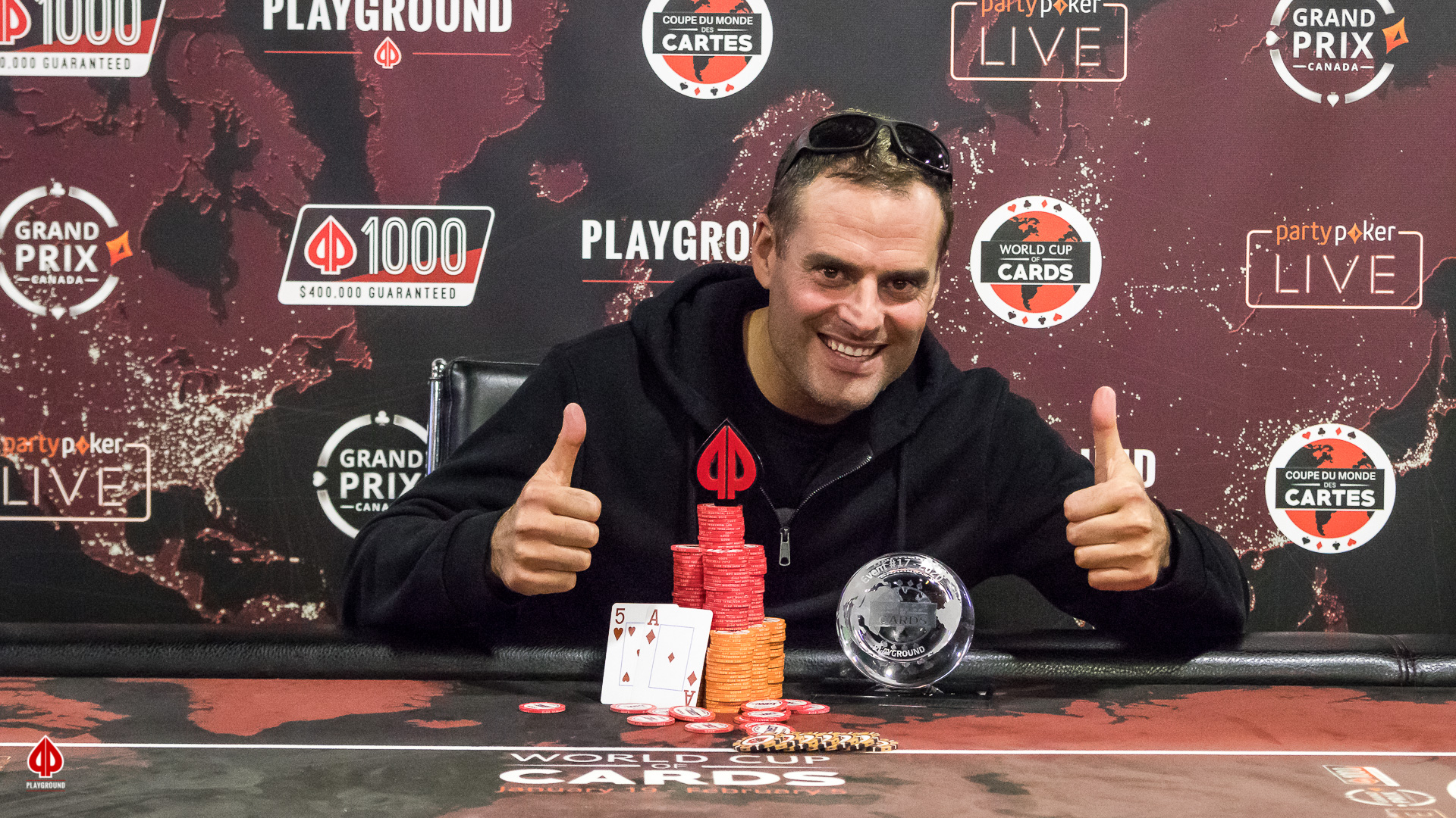 Big Bounty Champion: Sebastien Vezina