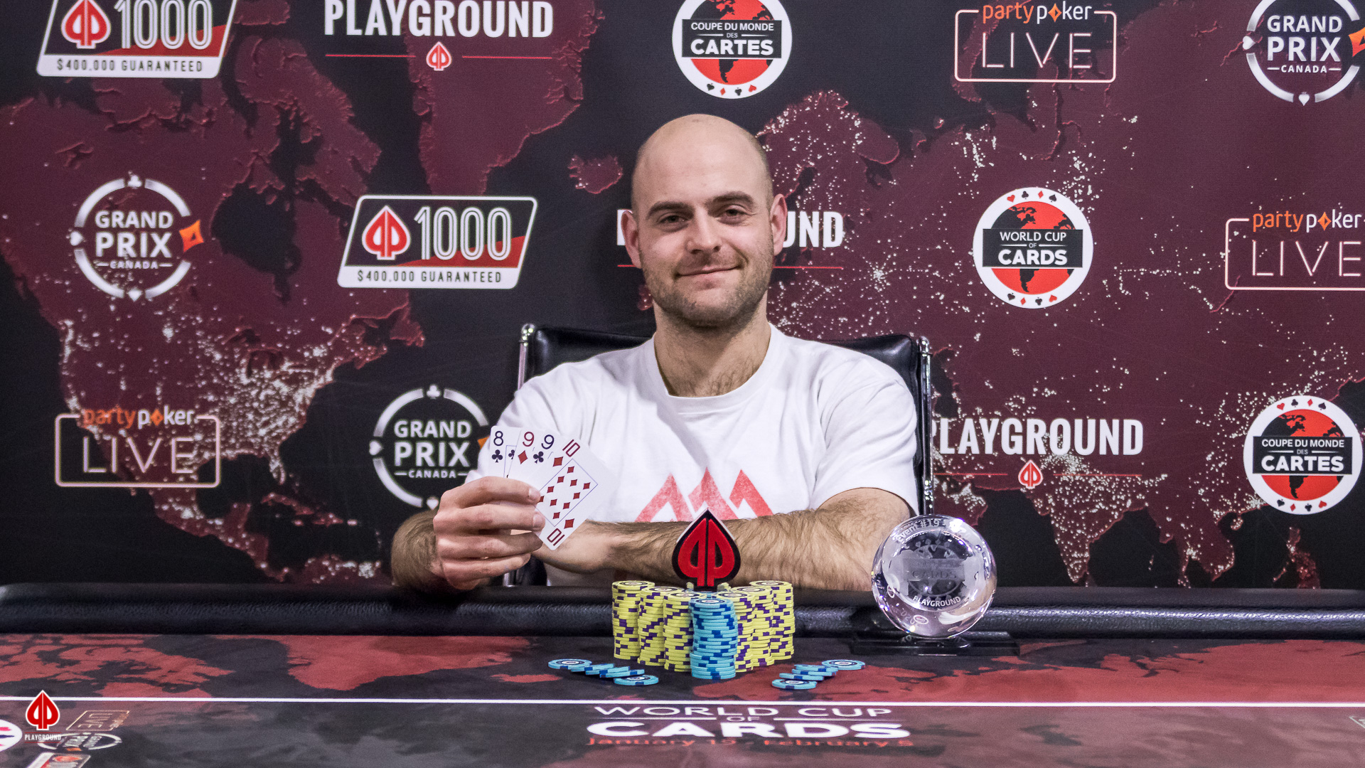 PL Omaha 3 Lives Re-entry Champion: Philippe Beaudoin