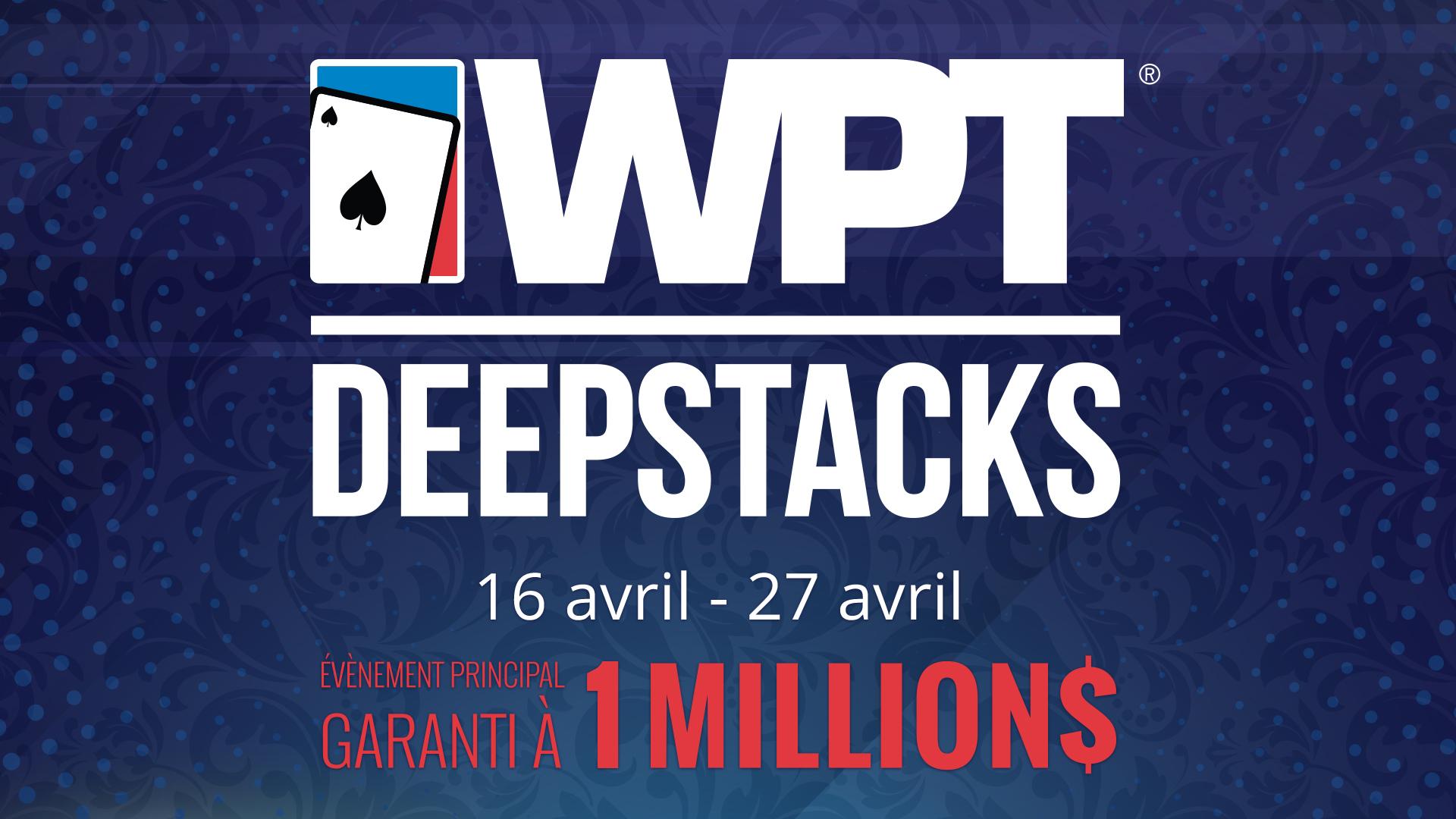 Place Au WPTDeepStacks Montréal