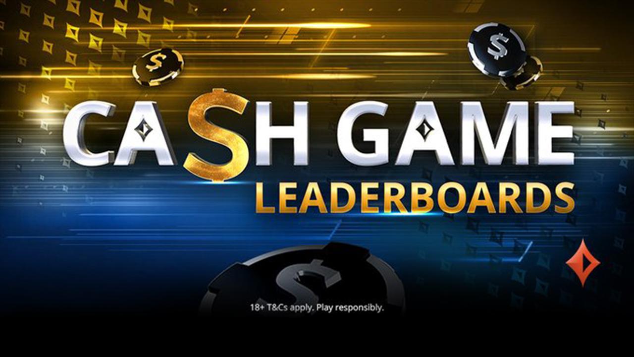 1 000 000$ à distribuer en mars via les Classements Cash Game partypoker!