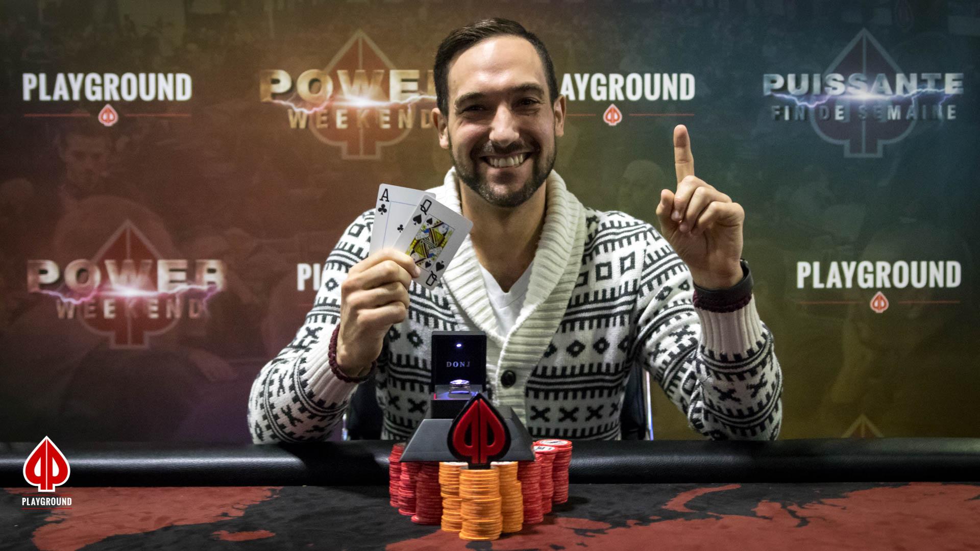 6-Max 50/50 Bounty Champion: Jordan Rochon
