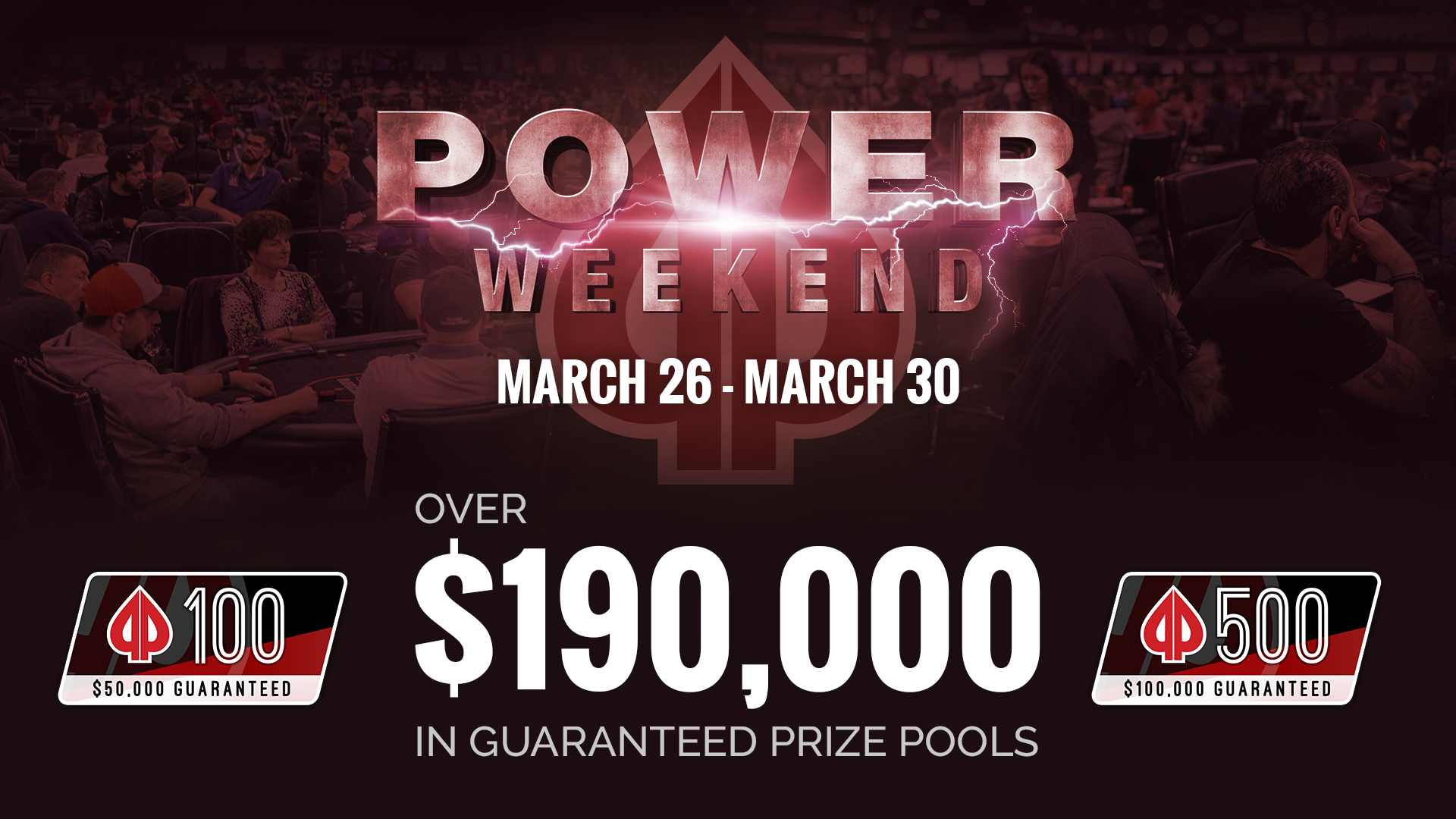 Get Set for the March Power Weekend