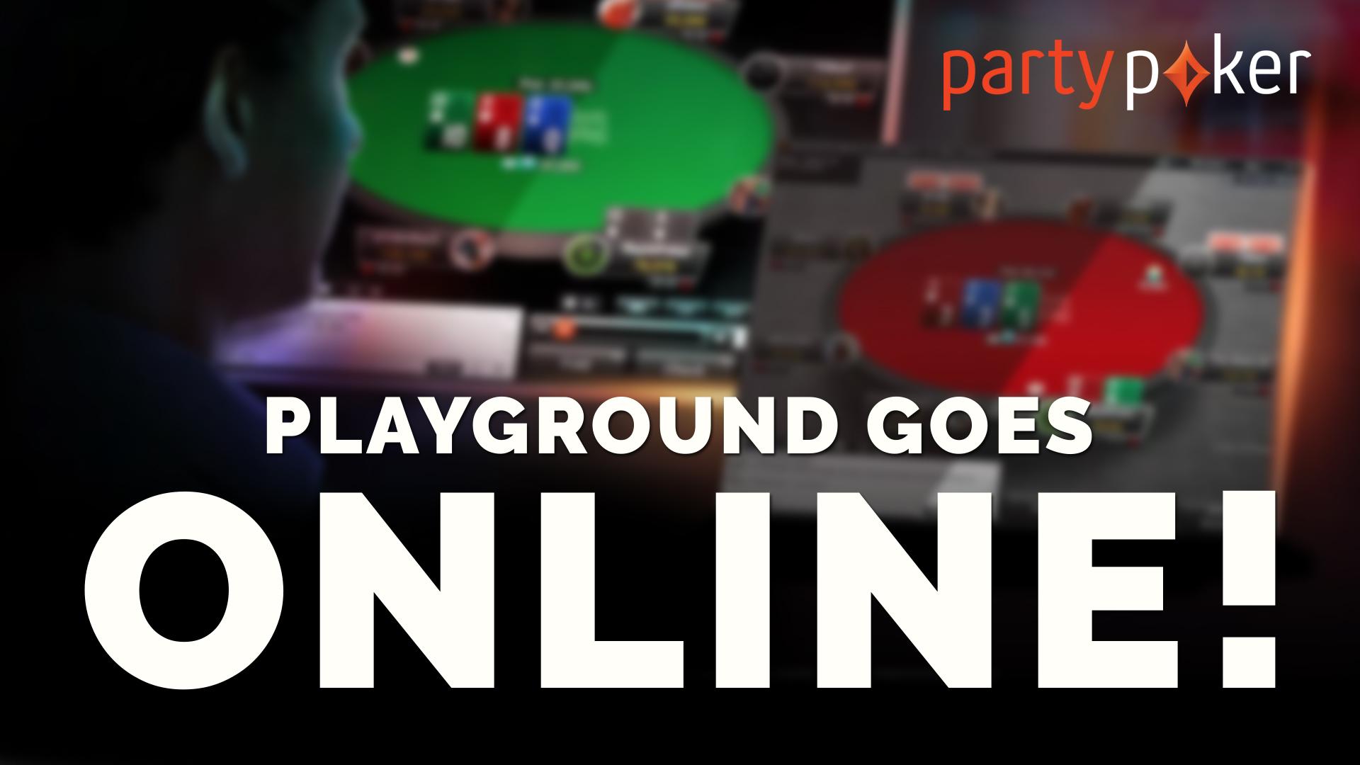 Playground goes online!