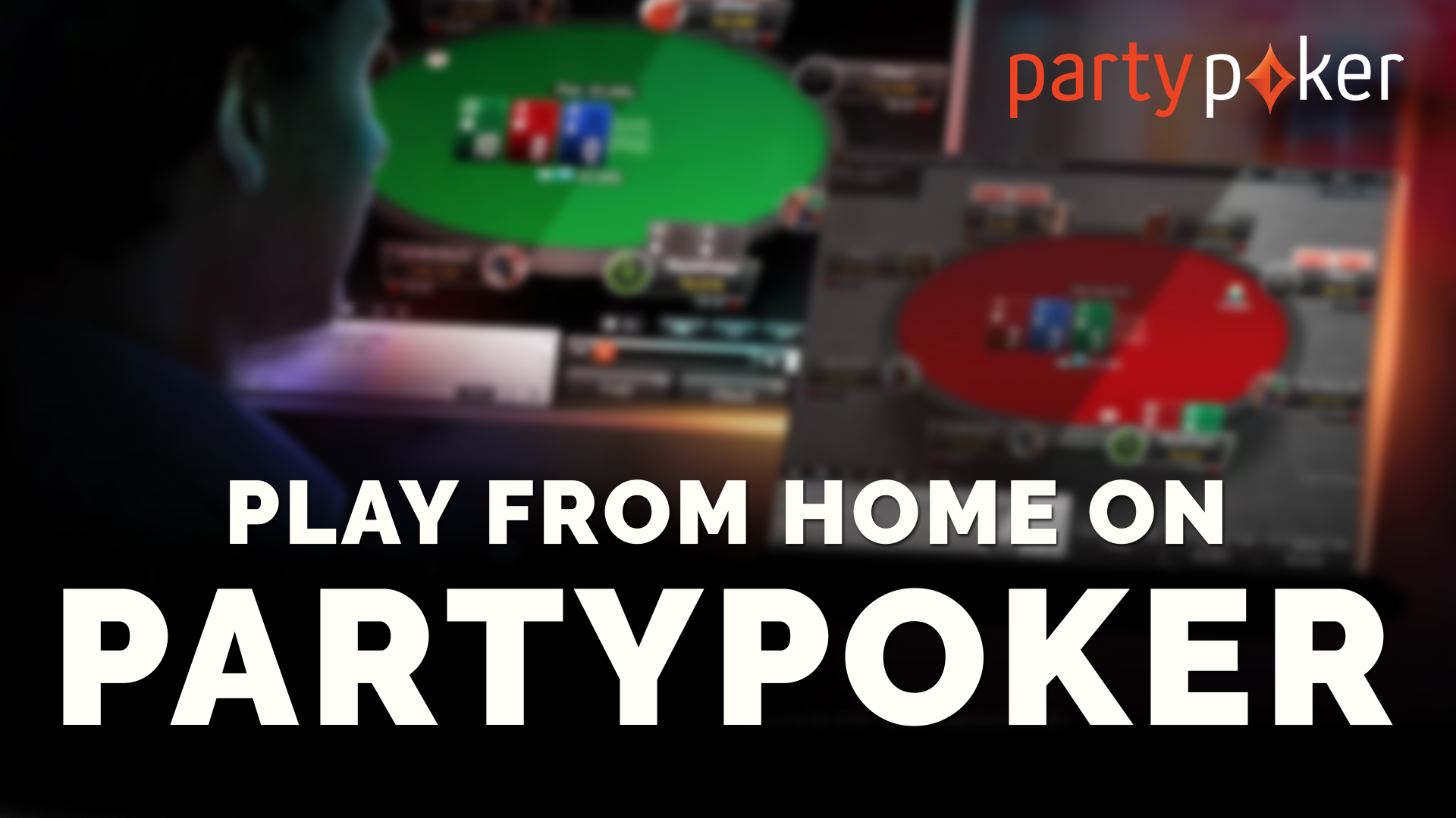 Play from home on partypoker