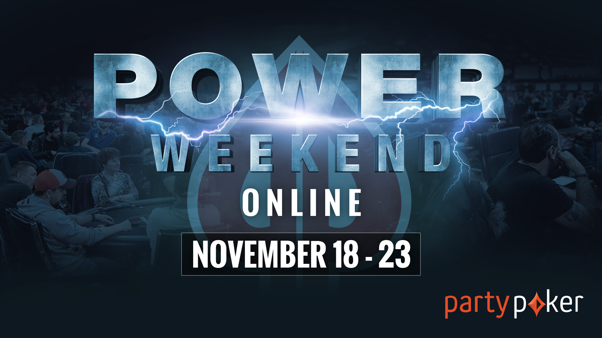 Another Power Weekend on partypoker!