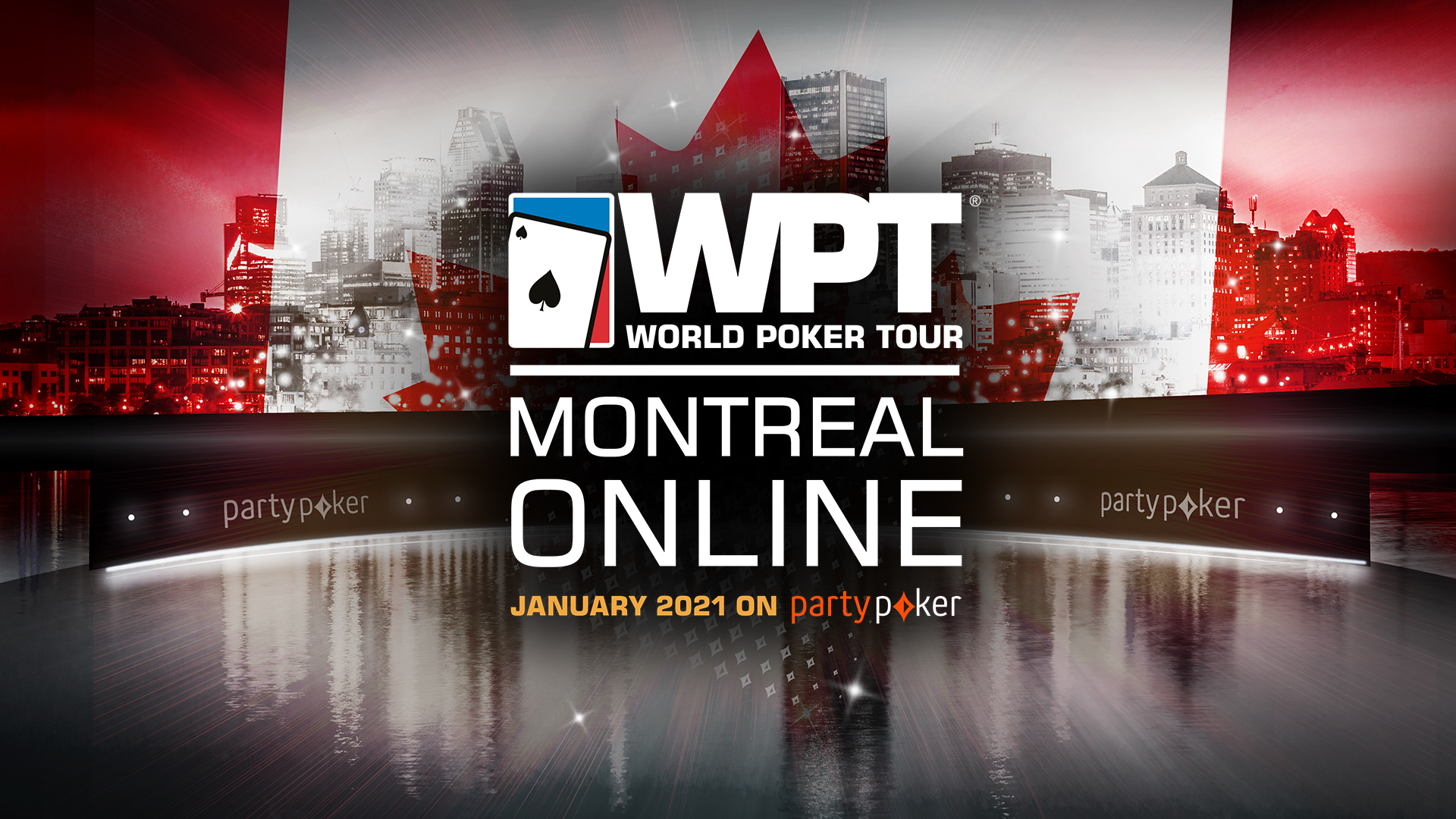 100 Seats Guaranteed to the WPT Montreal Main Event!