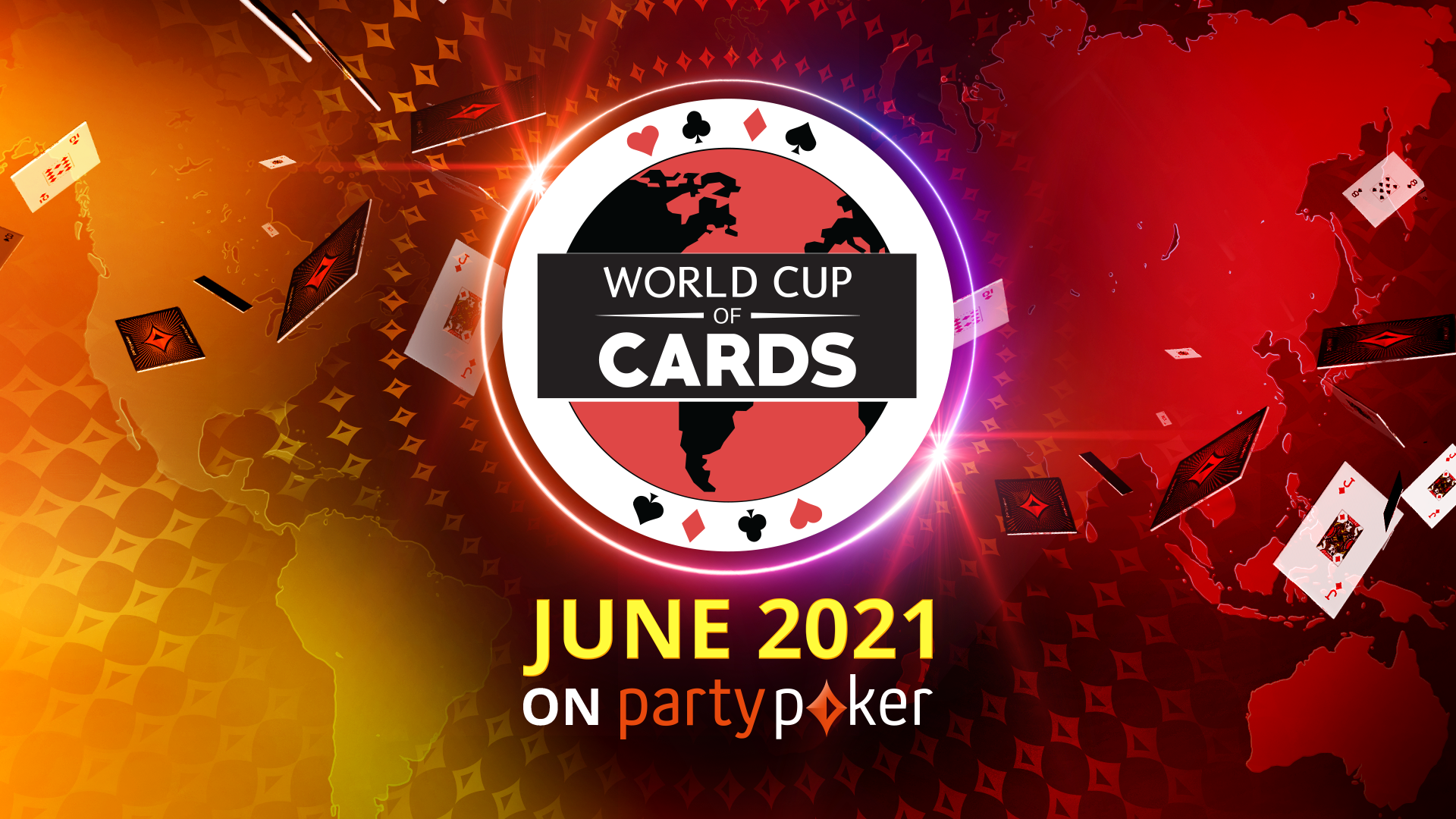 The World Cup of Cards is coming to partypoker!